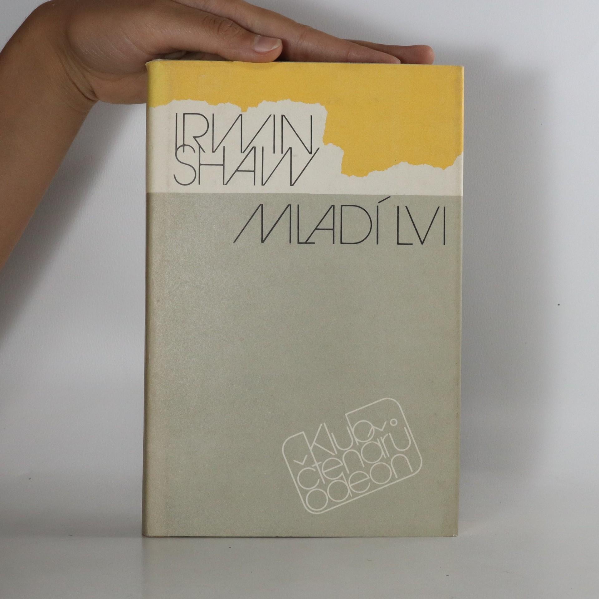antikvární kniha Mladí lvi, 1988