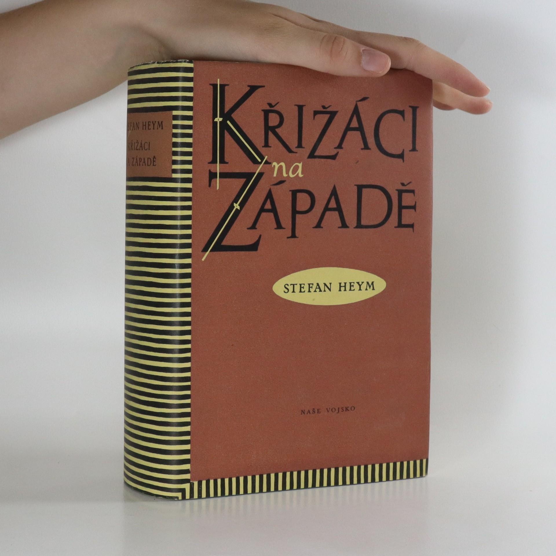 antikvární kniha Křižáci na Západě, 1955