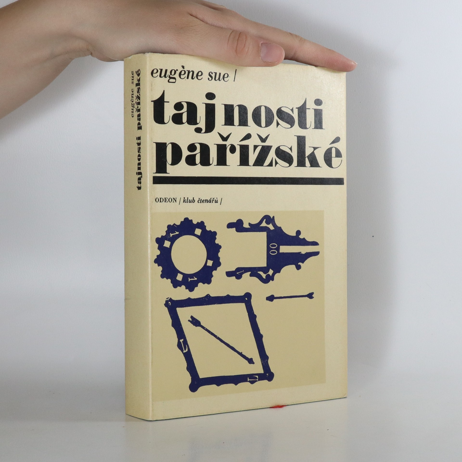 antikvární kniha Tajnosti pařížské, 1970