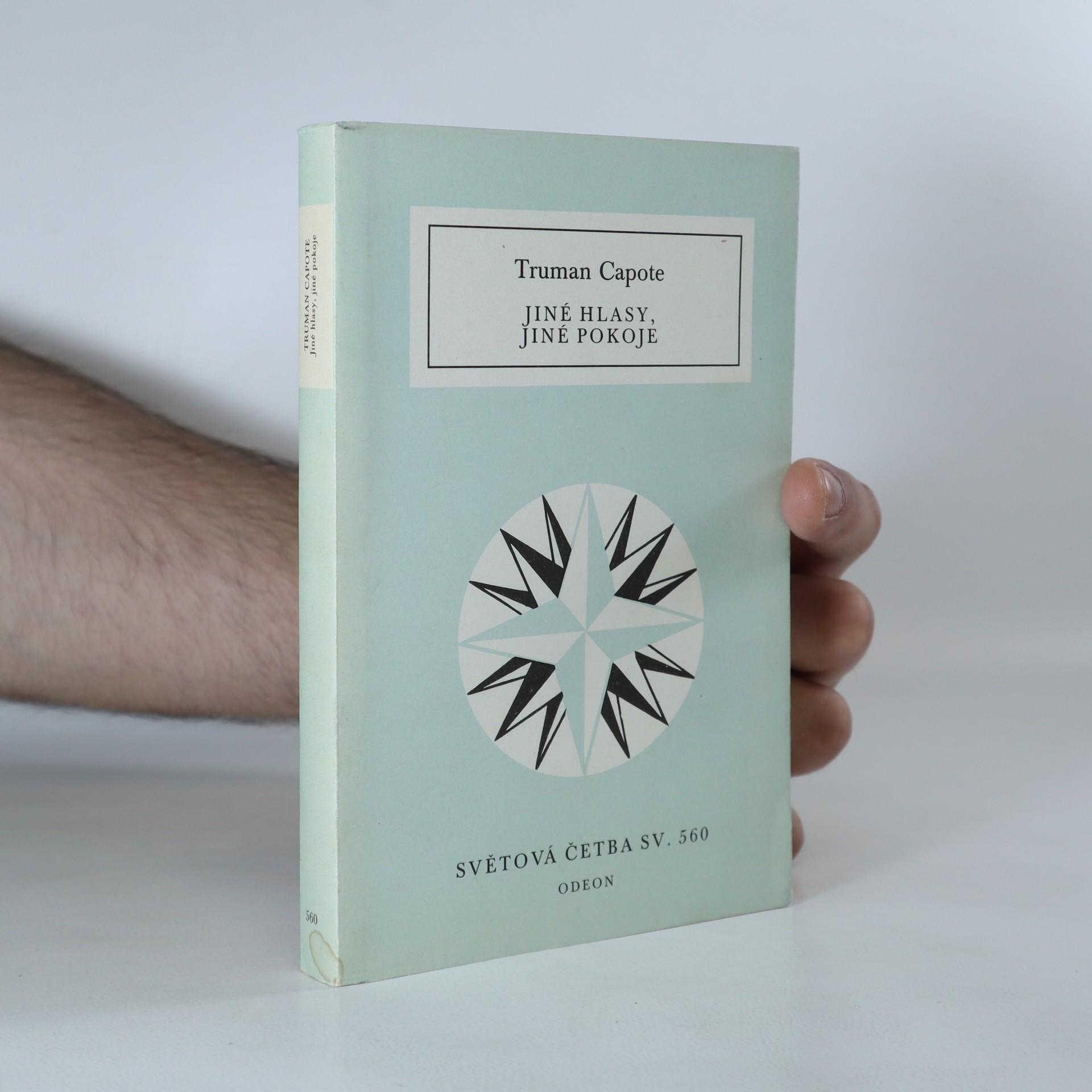 antikvární kniha Jiné hlasy, jiné pokoje, 1988
