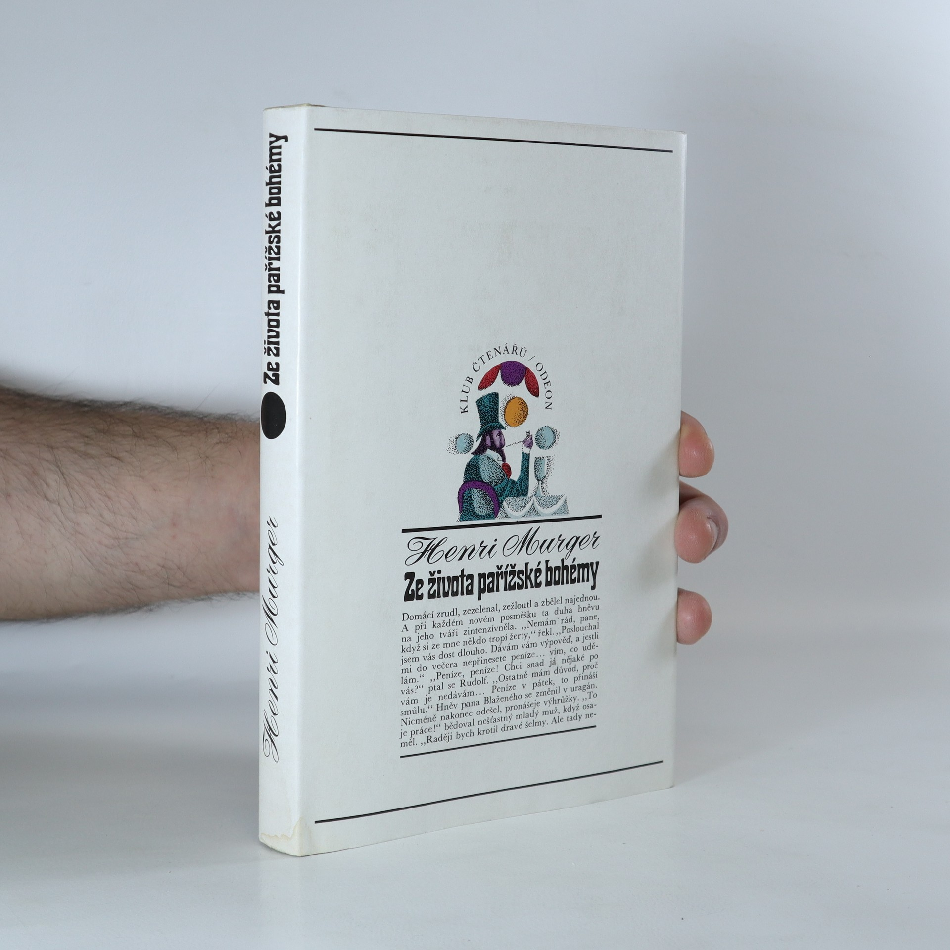 antikvární kniha Ze života pařížské bohémy, 1972