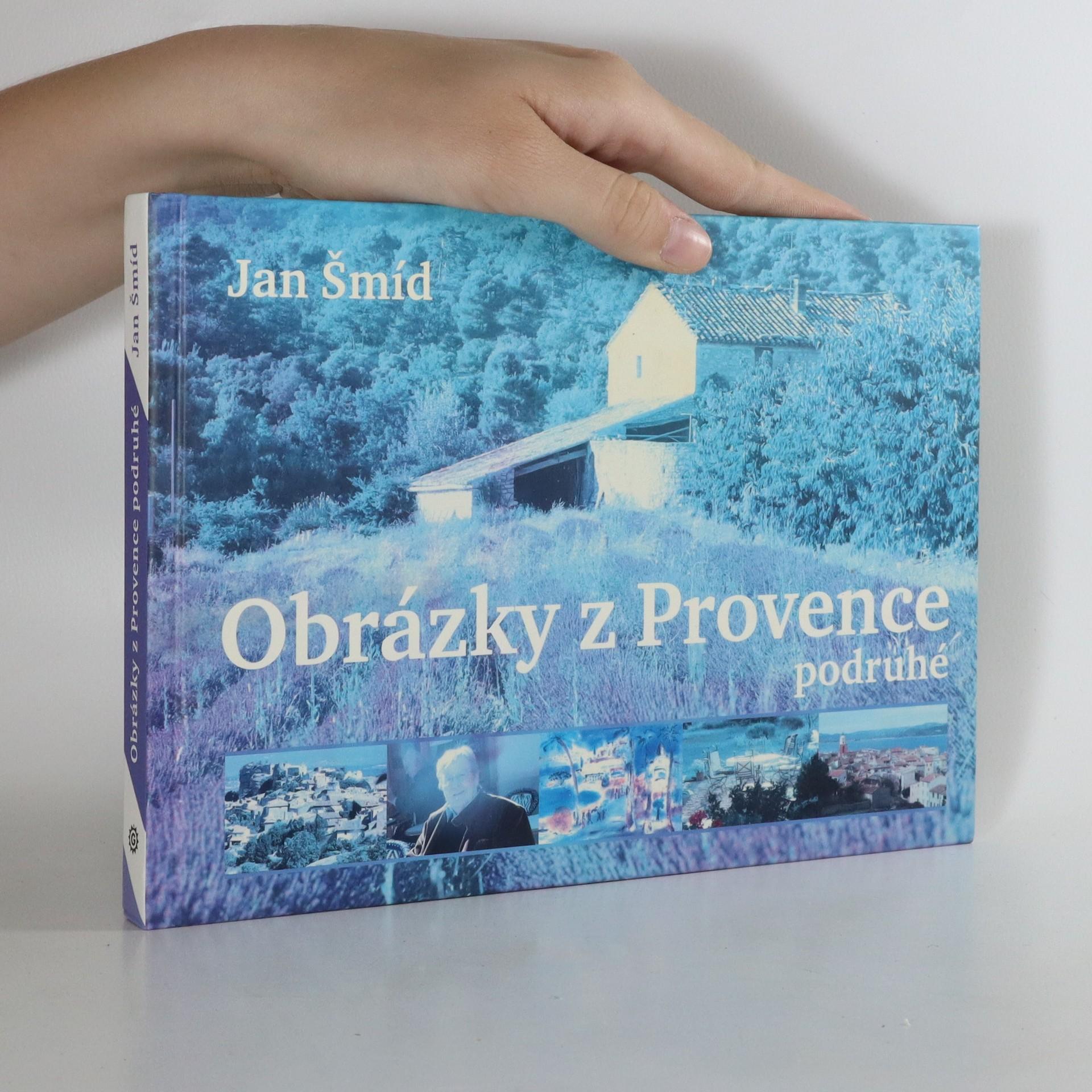 antikvární kniha Obrázky z Provence podruhé, 2008
