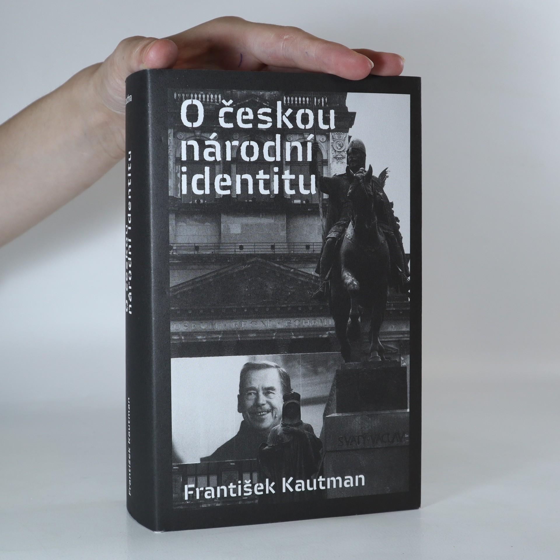 antikvární kniha O českou národní identitu, 2015