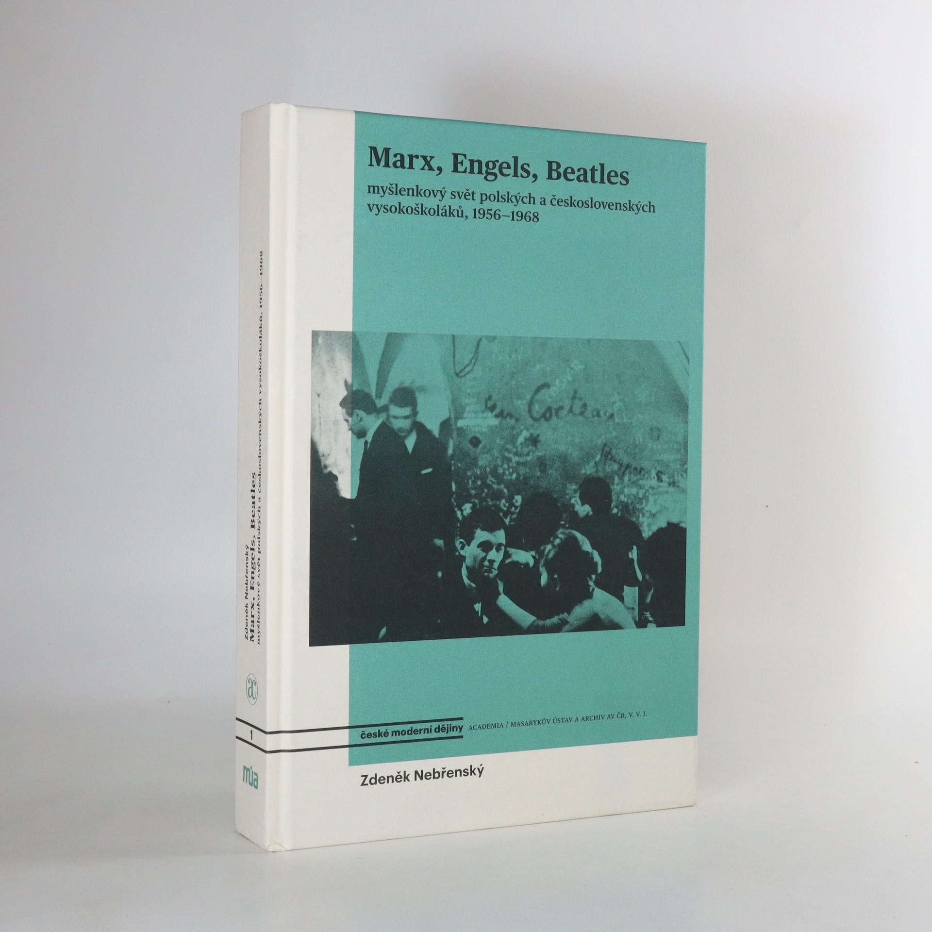 antikvární kniha Marx, Engels, Beatles, 2017