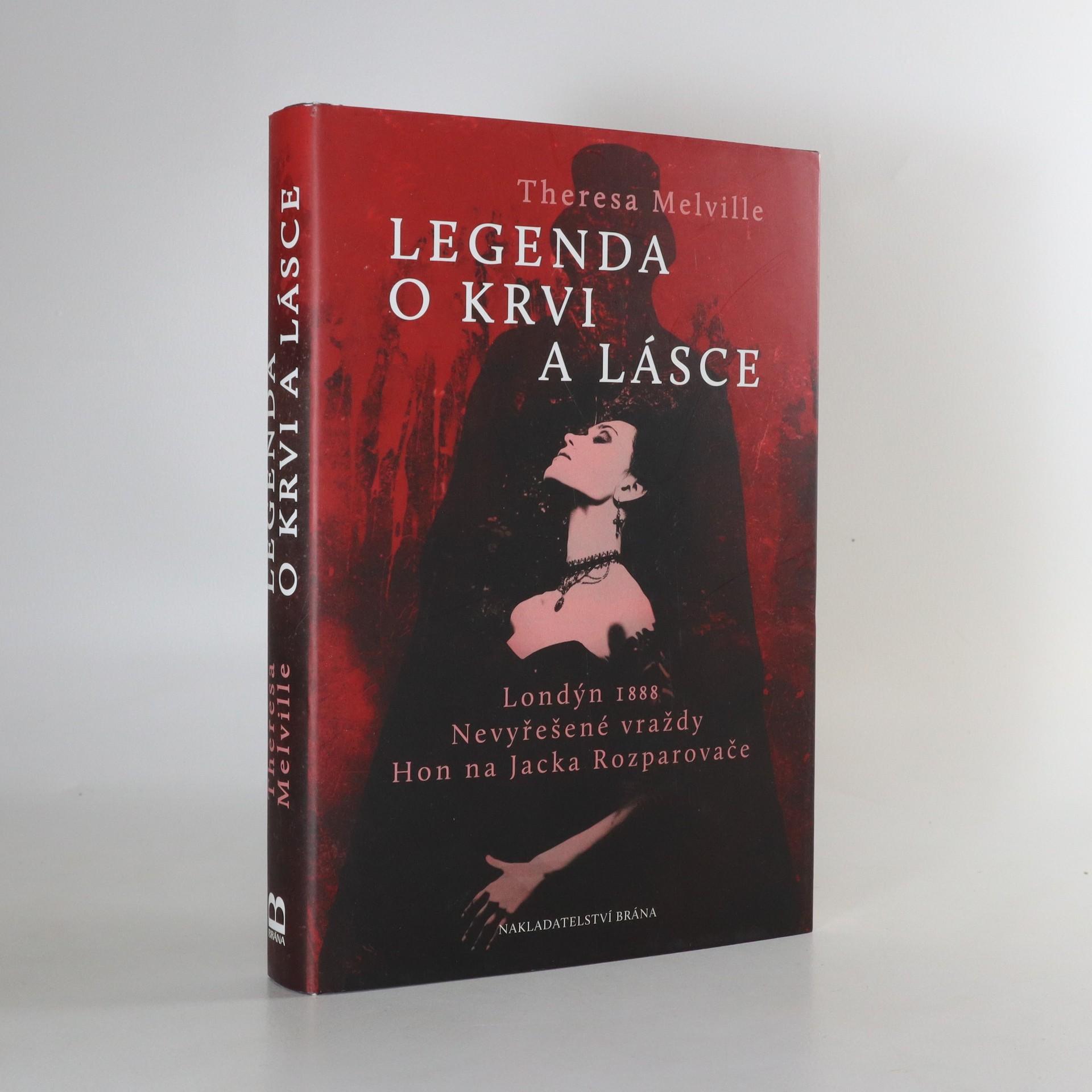 antikvární kniha Legenda o krvi a lásce, 2017