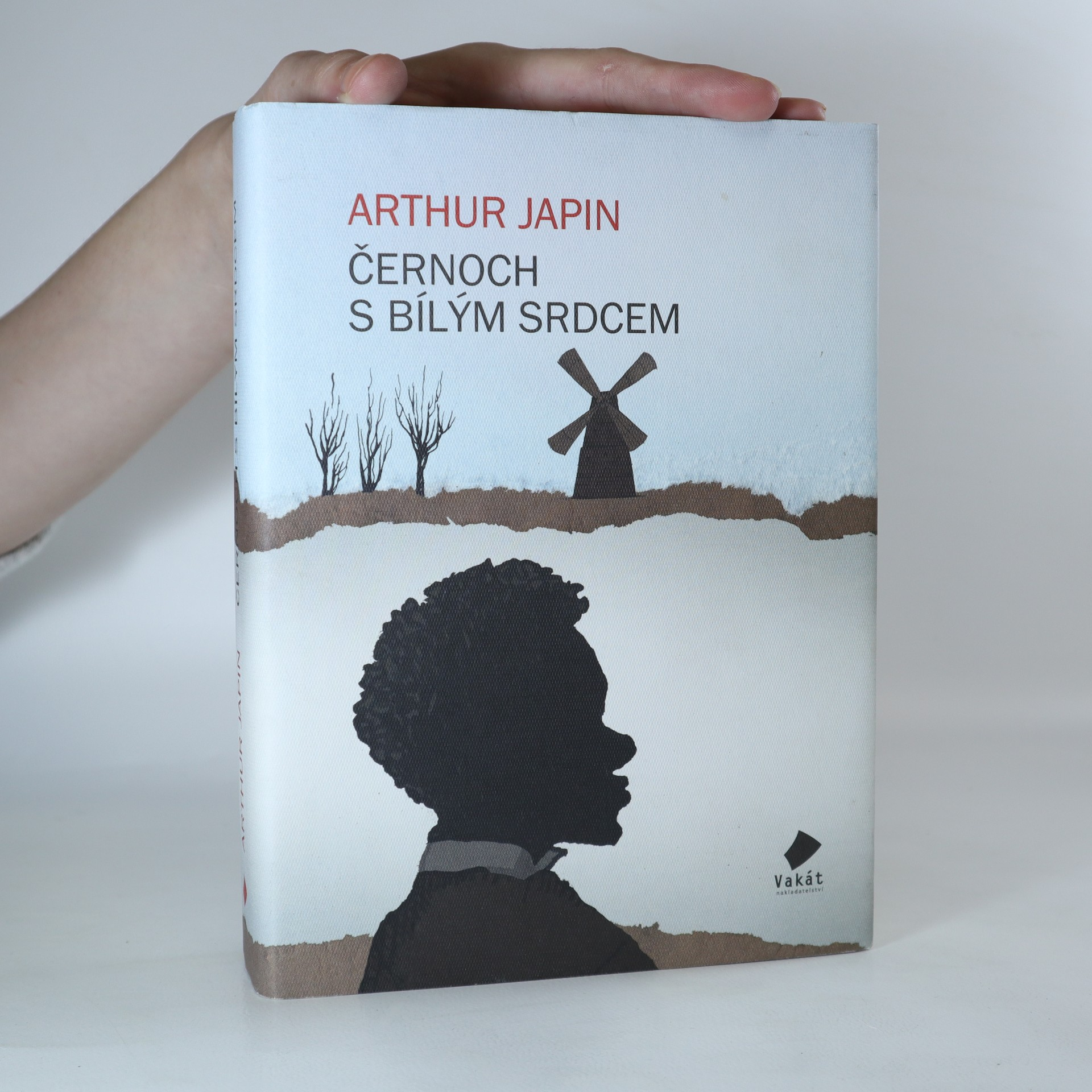 antikvární kniha Černoch s bílým srdcem, 2012