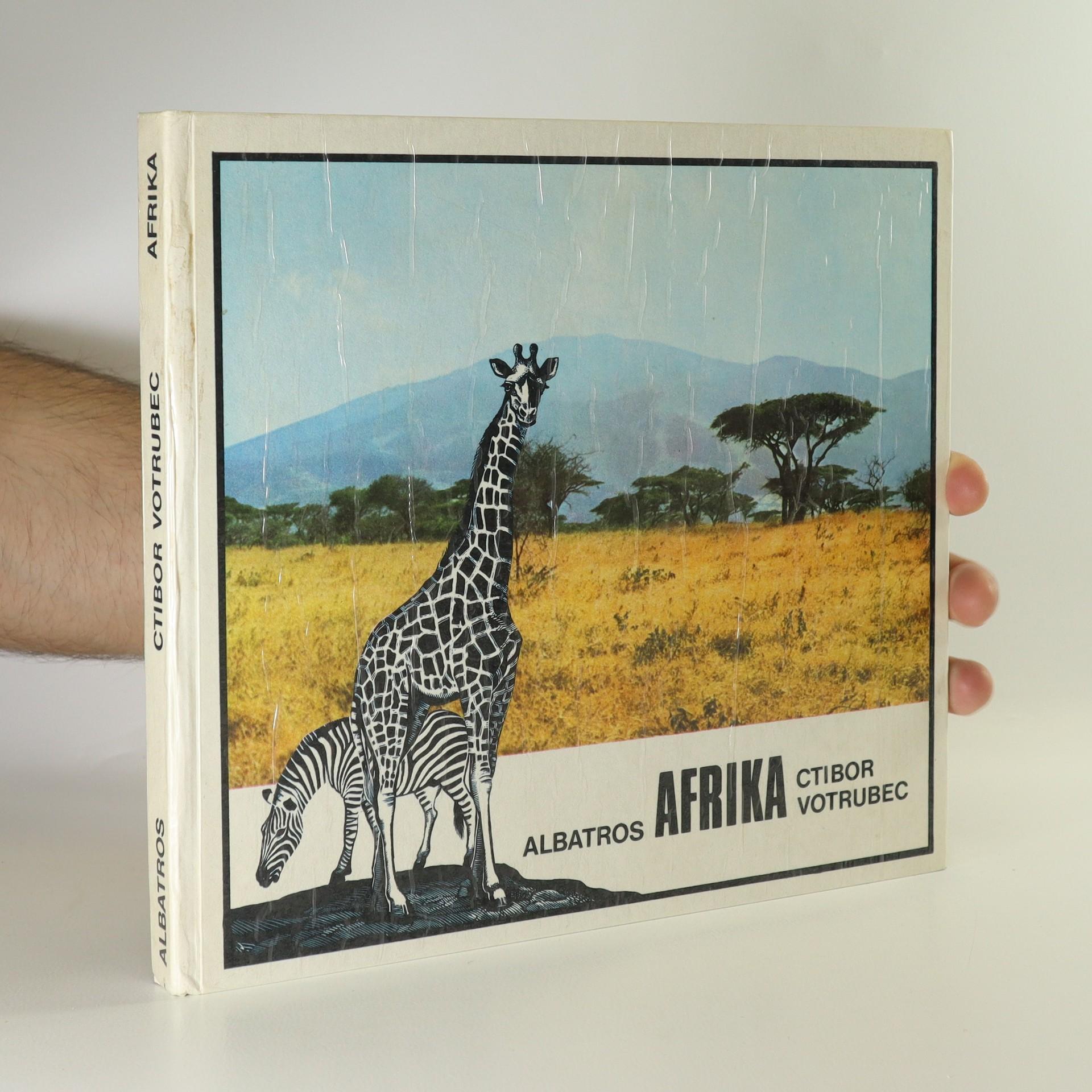 antikvární kniha Afrika, 1977