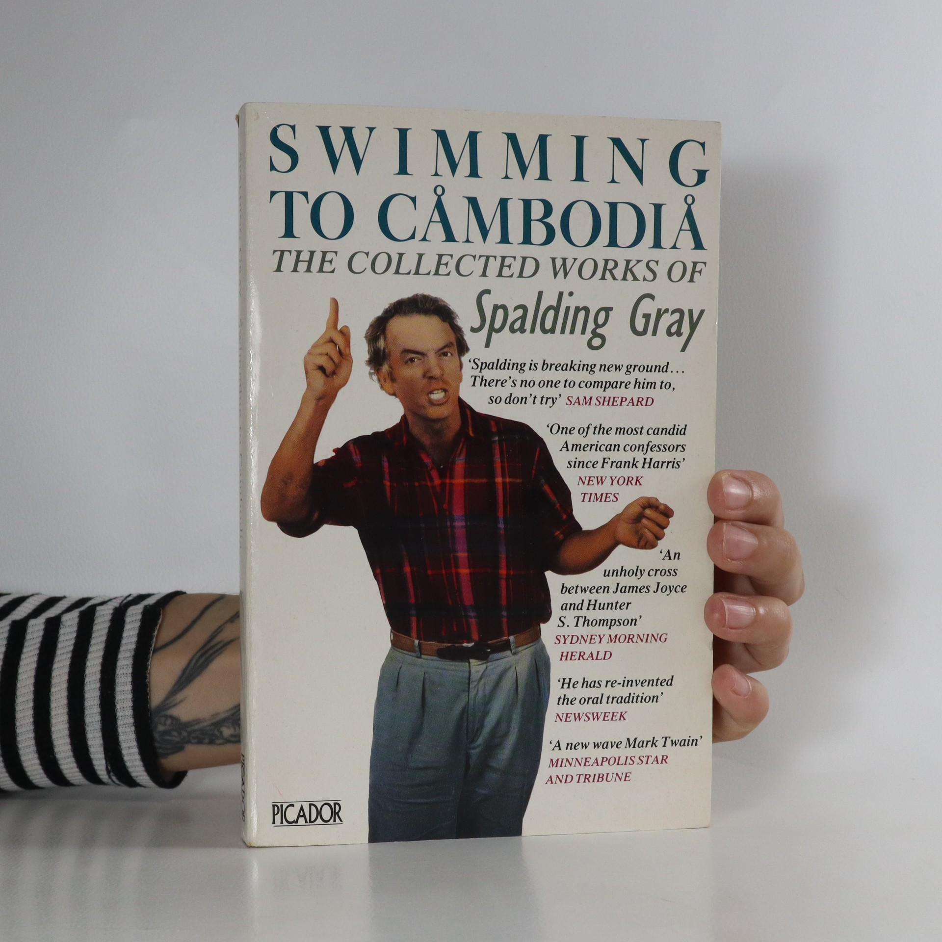 antikvární kniha Swimming to Cambodia. The collected works of Spalding Gray, 1987