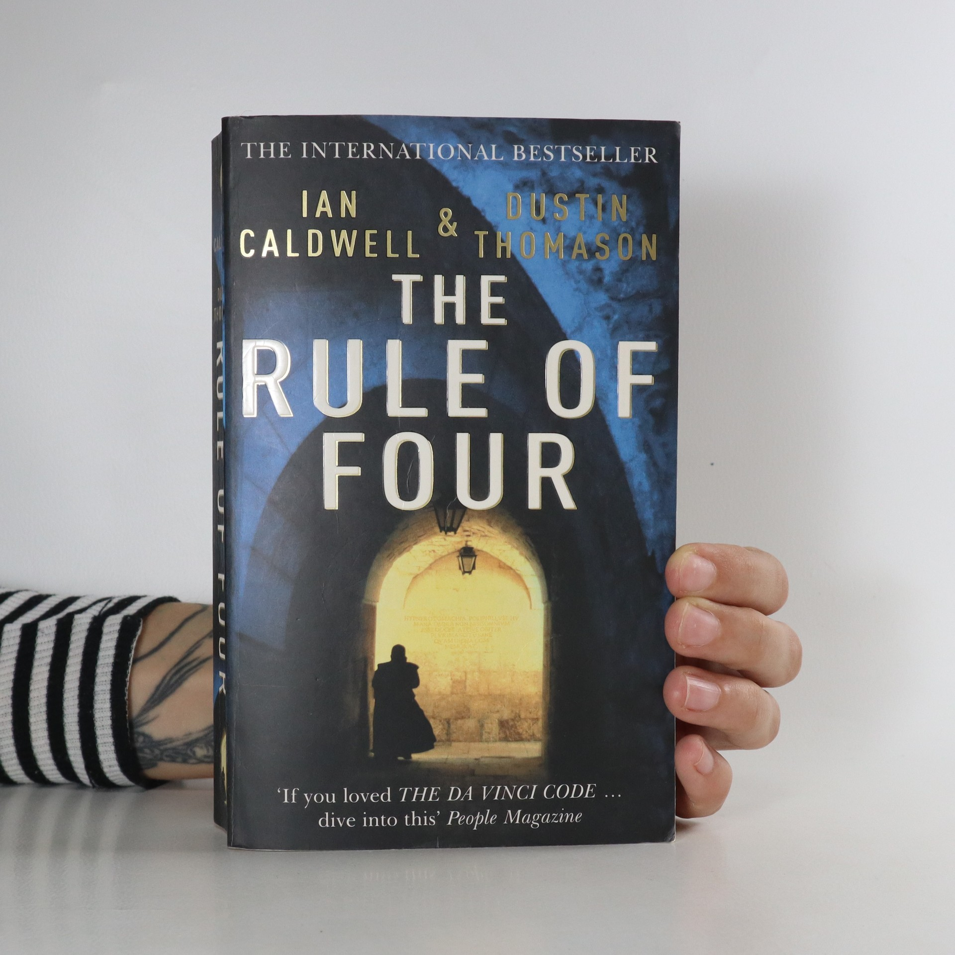 antikvární kniha The rule of four, 2005