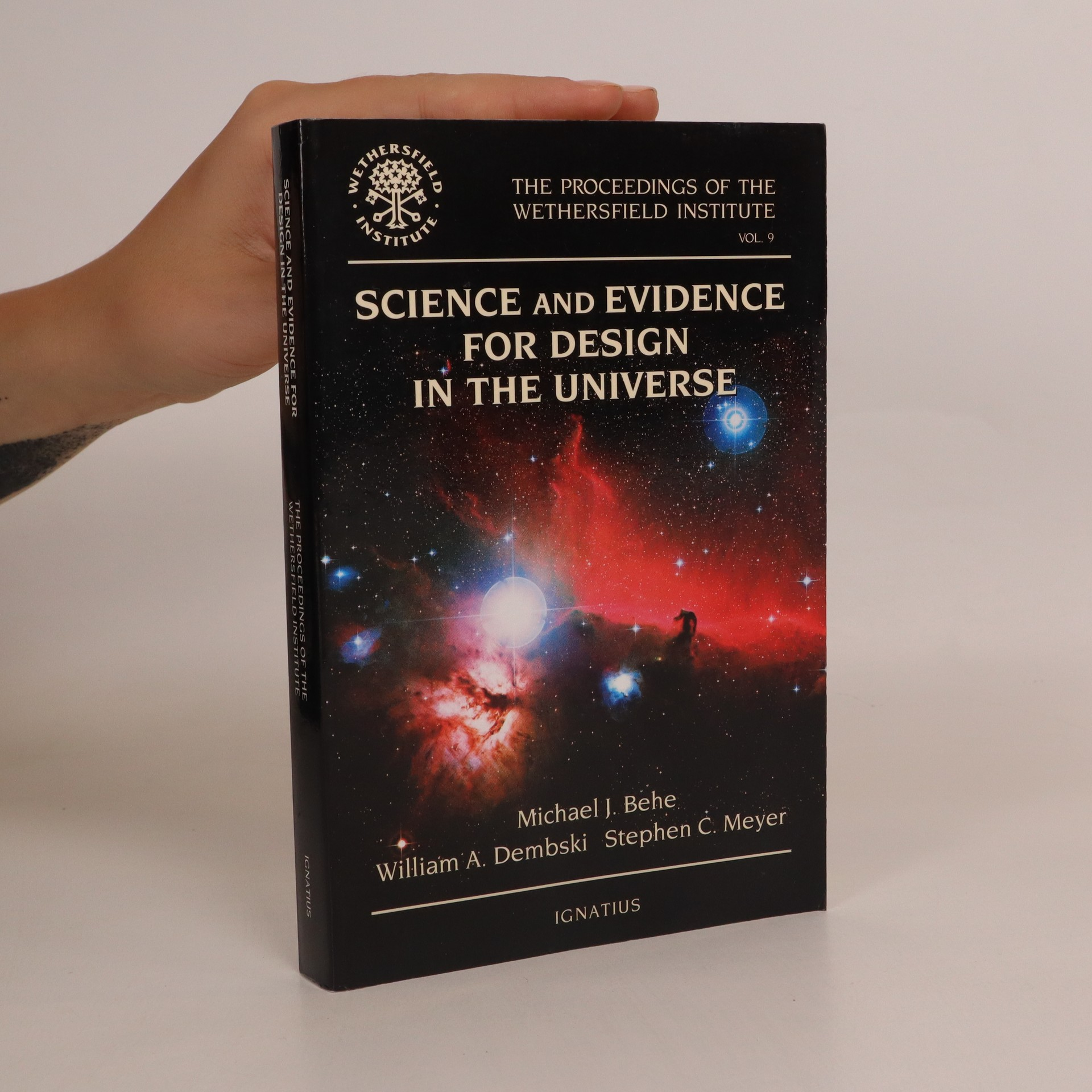 antikvární kniha Science and Evidence for Design in the Universe, neuveden