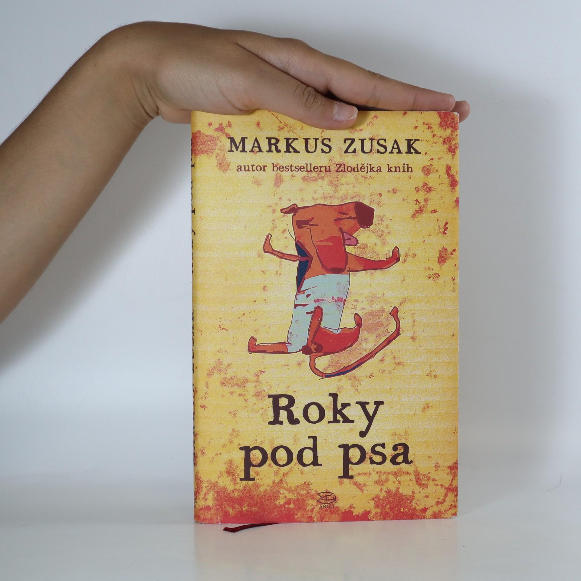antikvární kniha Roky pod psa, 2014