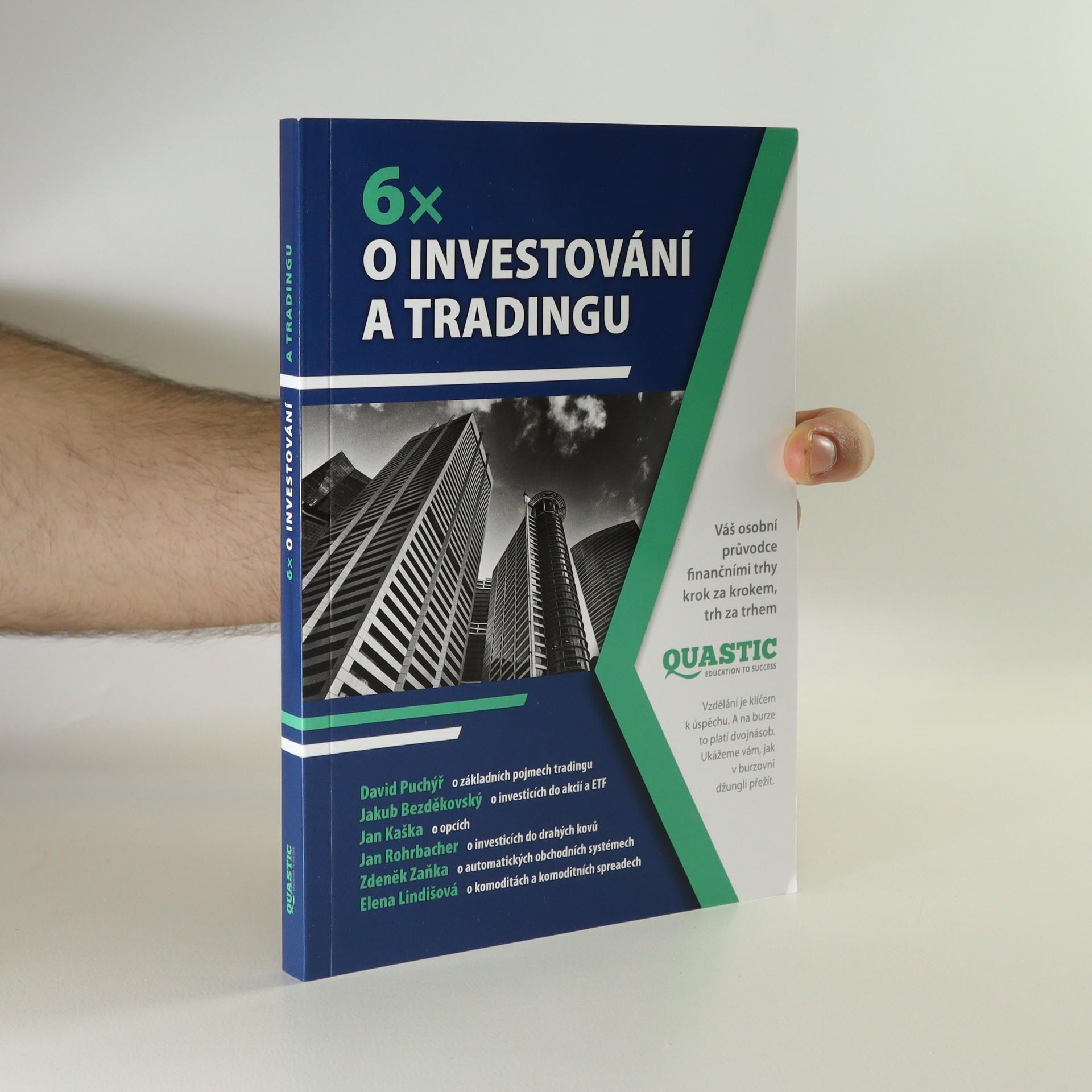 antikvární kniha 6x o investování a tradingu, 2018