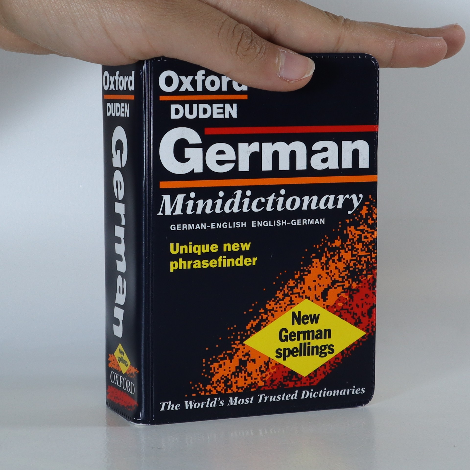 antikvární kniha Oxford Duden German minidictionary, 1999