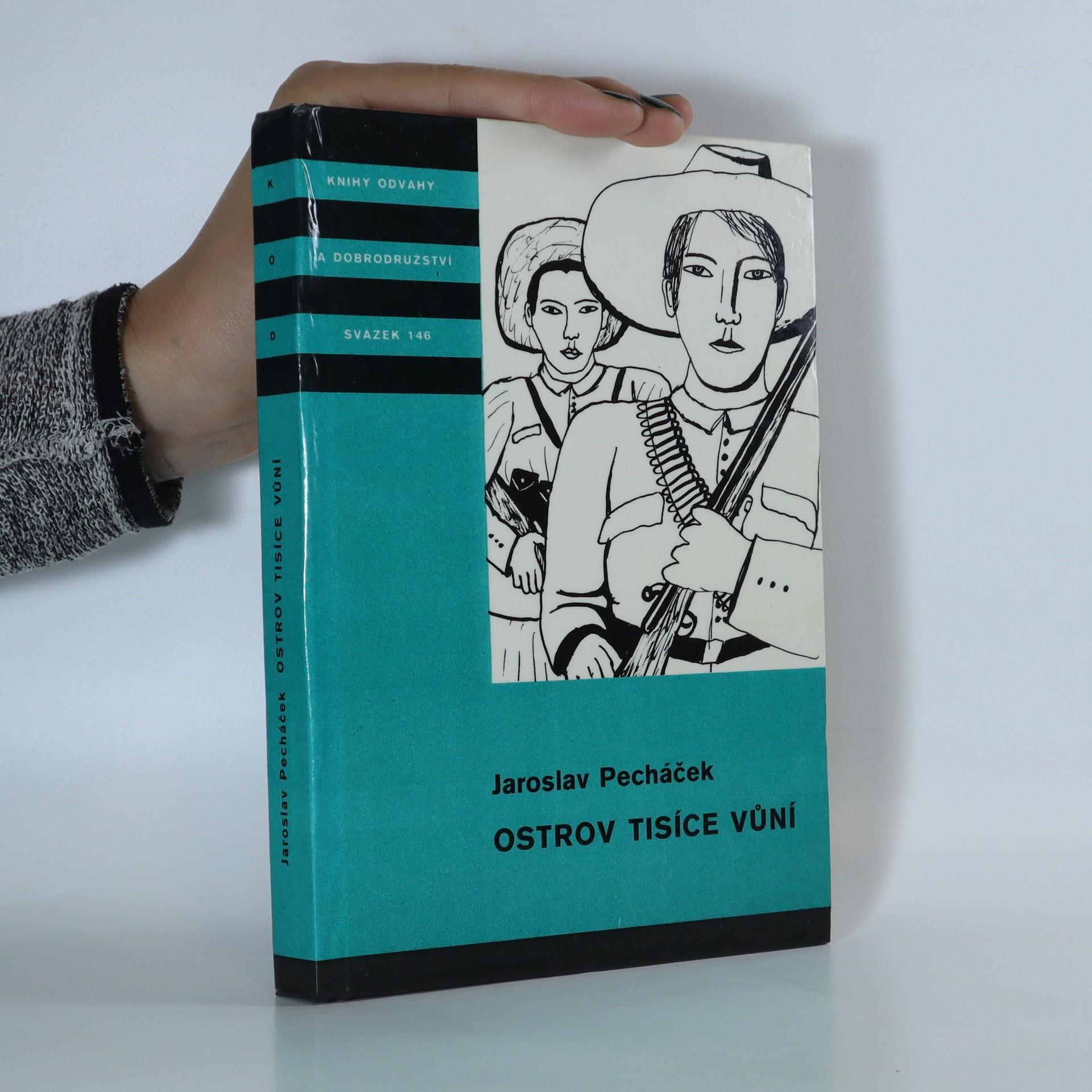 antikvární kniha Ostrov tisíce vůní, 1978