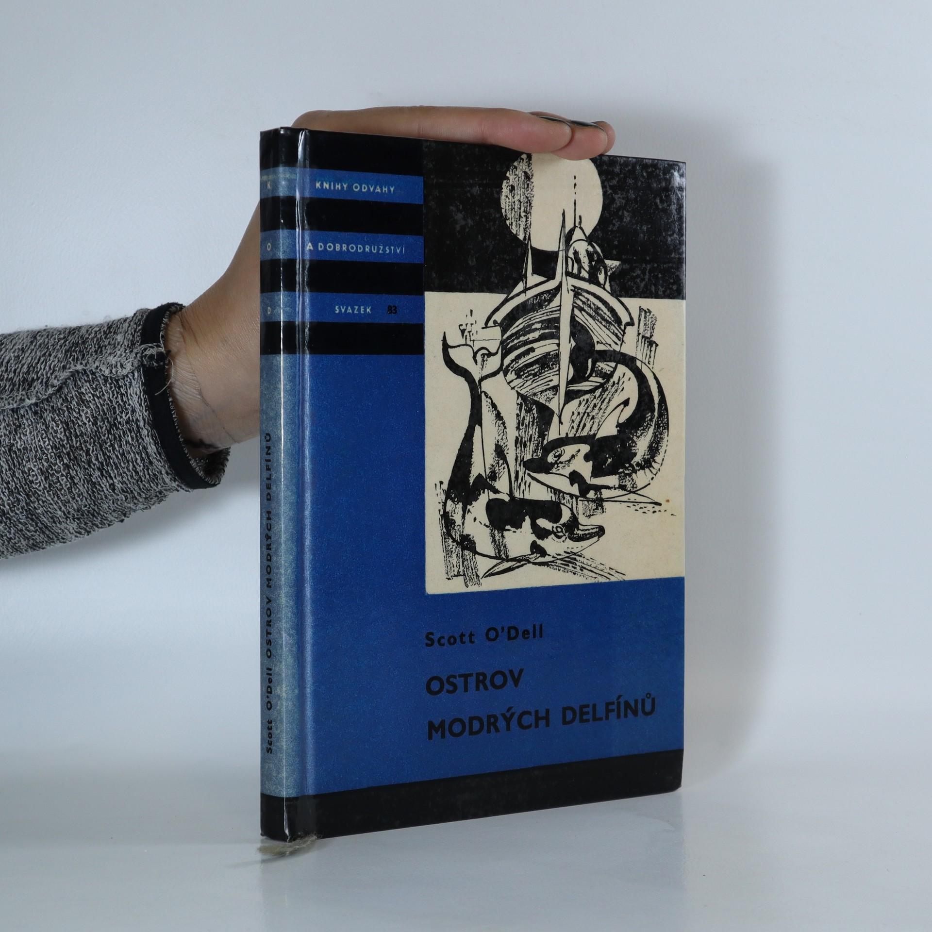 antikvární kniha Ostrov modrých delfínů, 1965