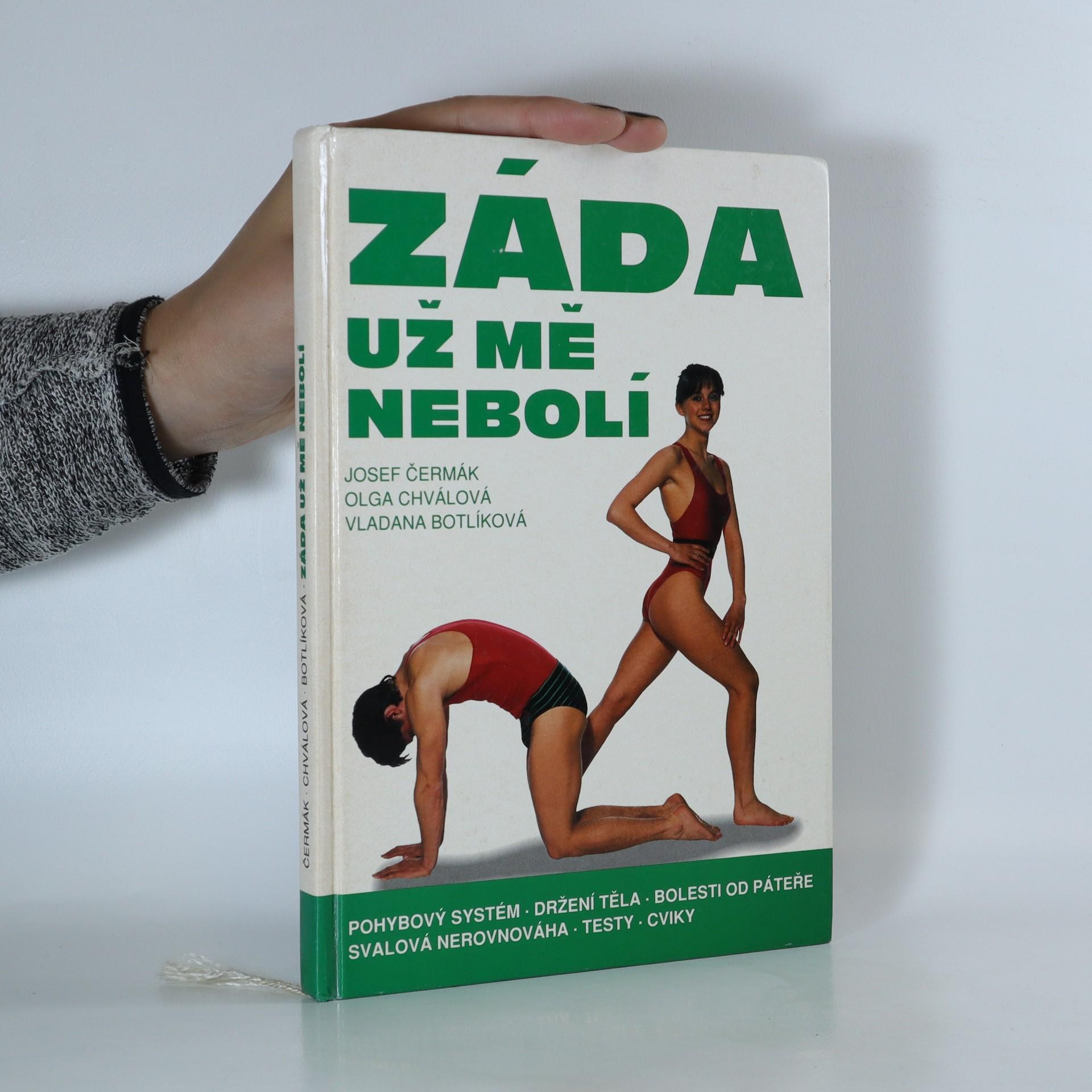 antikvární kniha Záda už mě nebolí, 1994