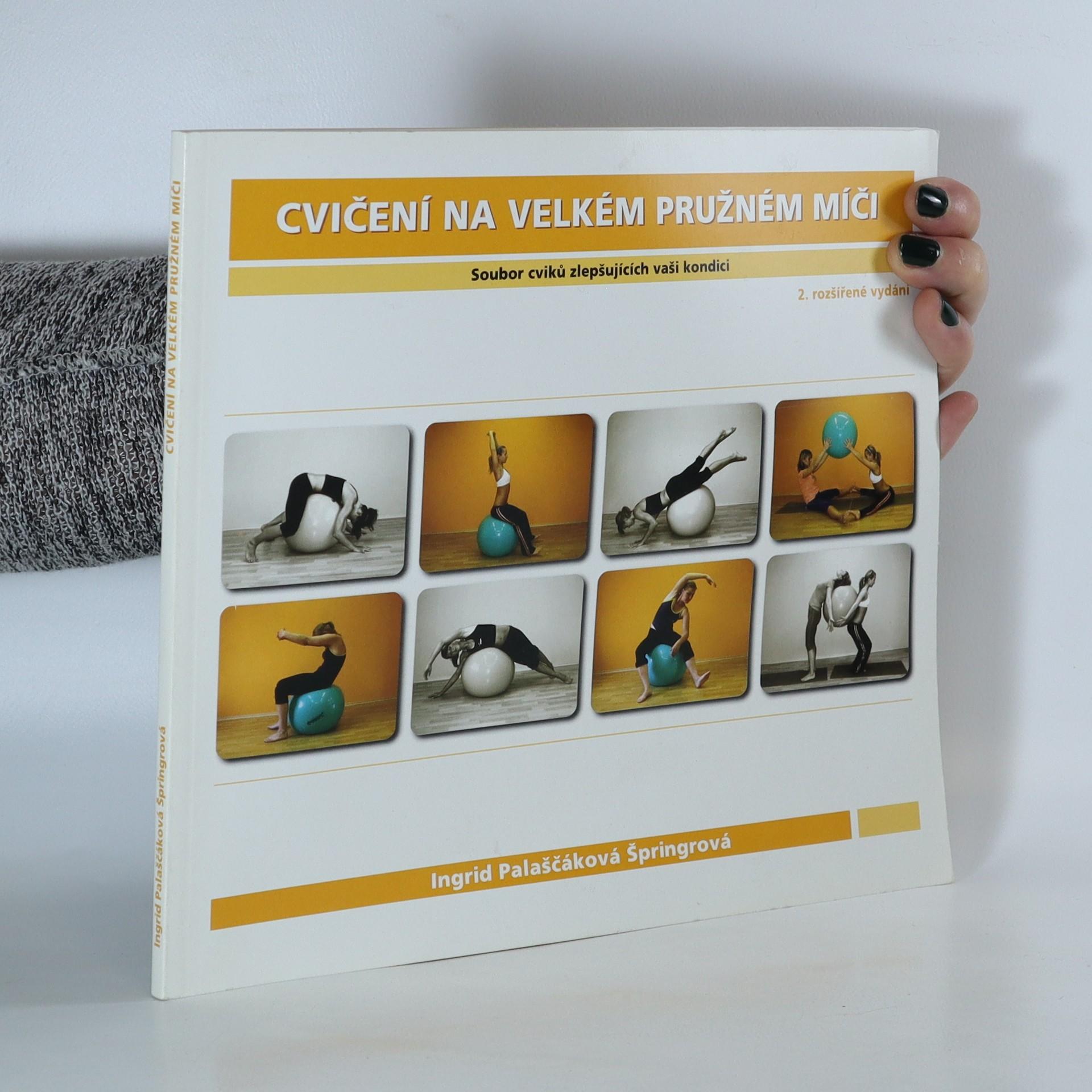antikvární kniha Cvičení na velkém pružném míči. Soubor cviků zlepšujících vaši kondici, 2008