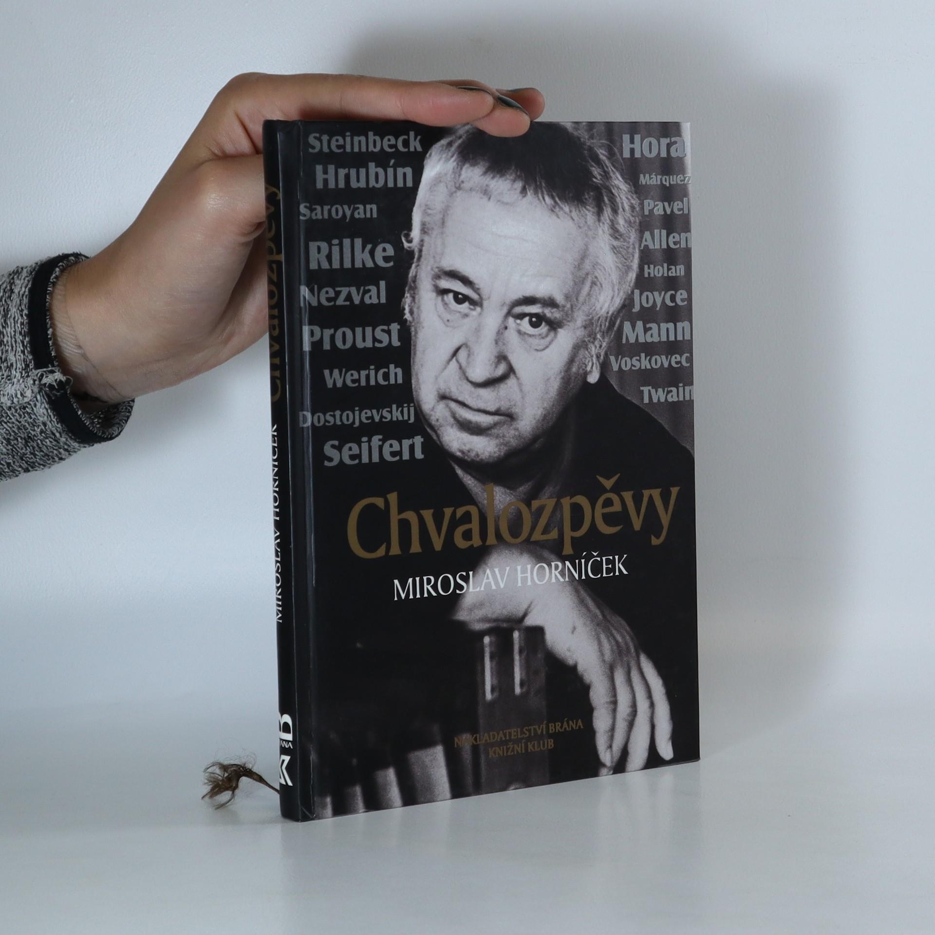 antikvární kniha Chvalozpěvy, 2001