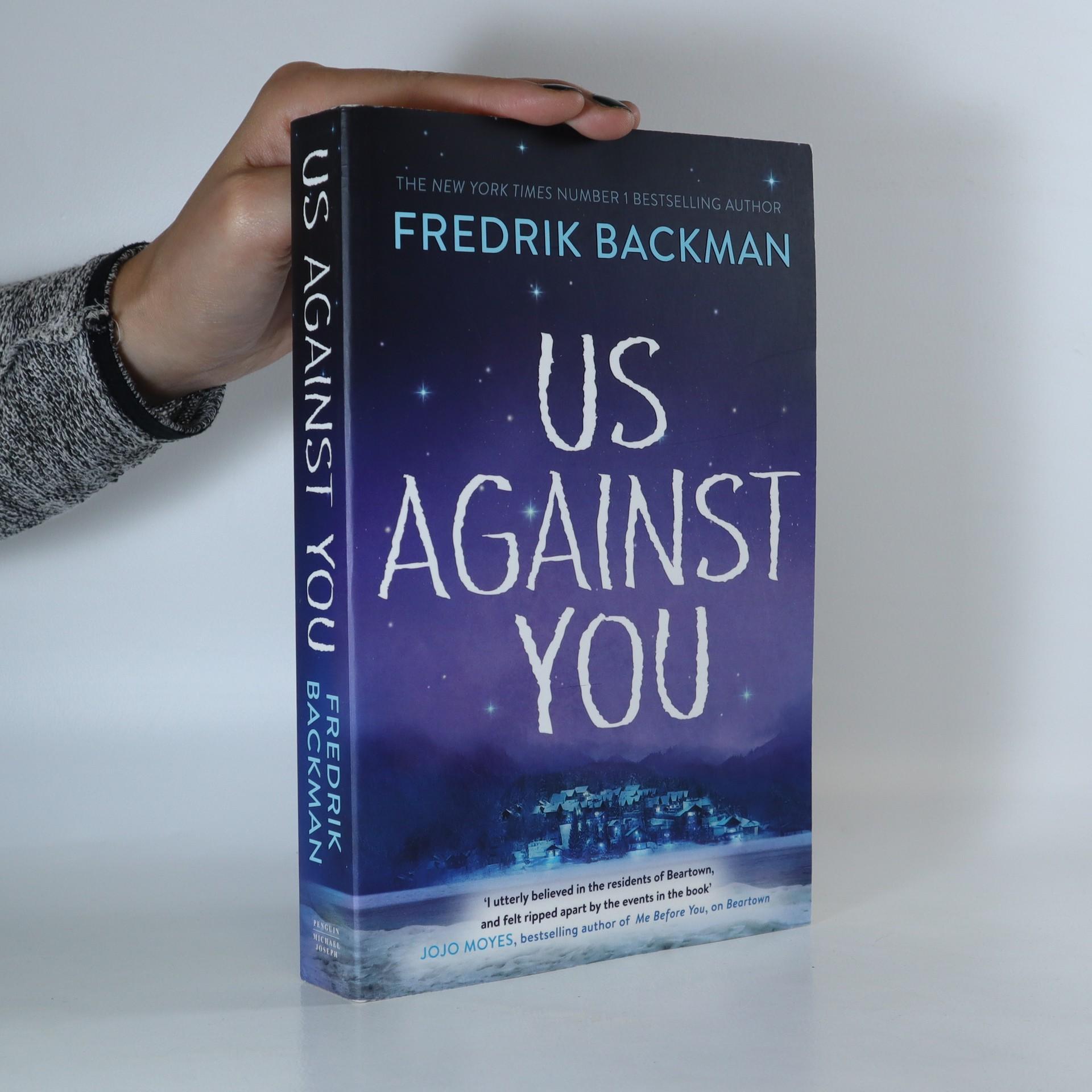 antikvární kniha Us Against You, 2018