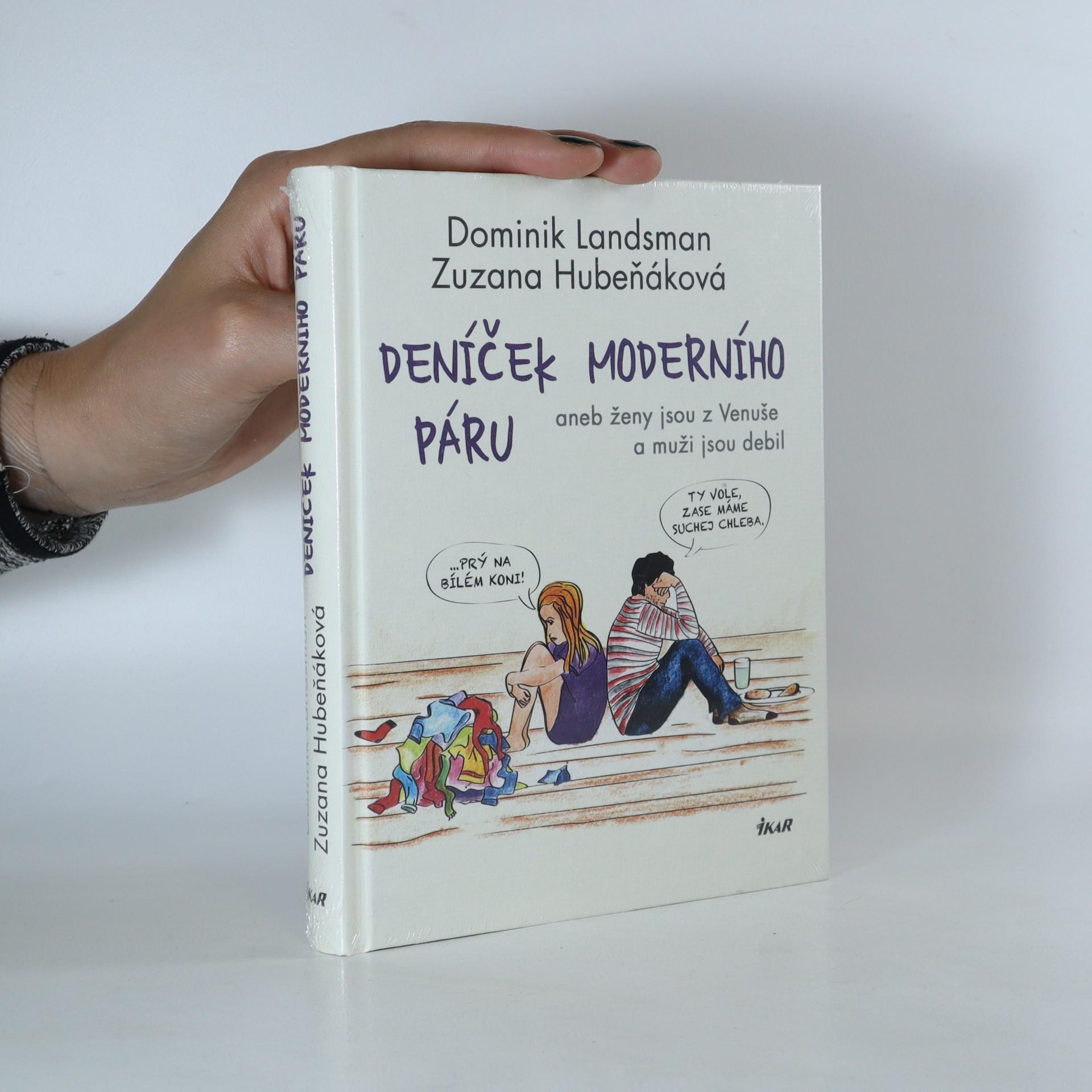 antikvární kniha Deníček moderního páru aneb ženy jsou z Venuše a muži jsou debil, neuveden