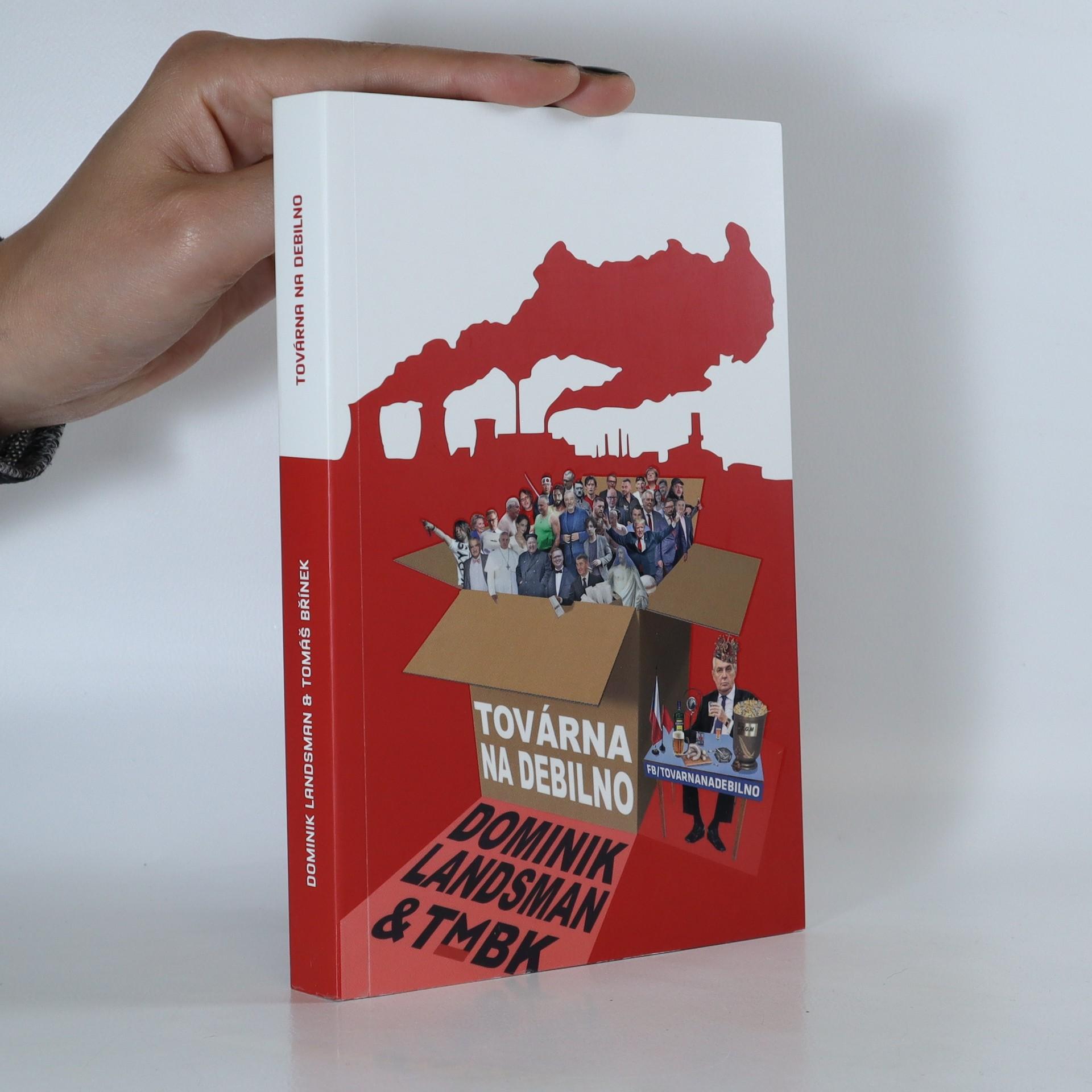 antikvární kniha Továrna na debilno, 2017