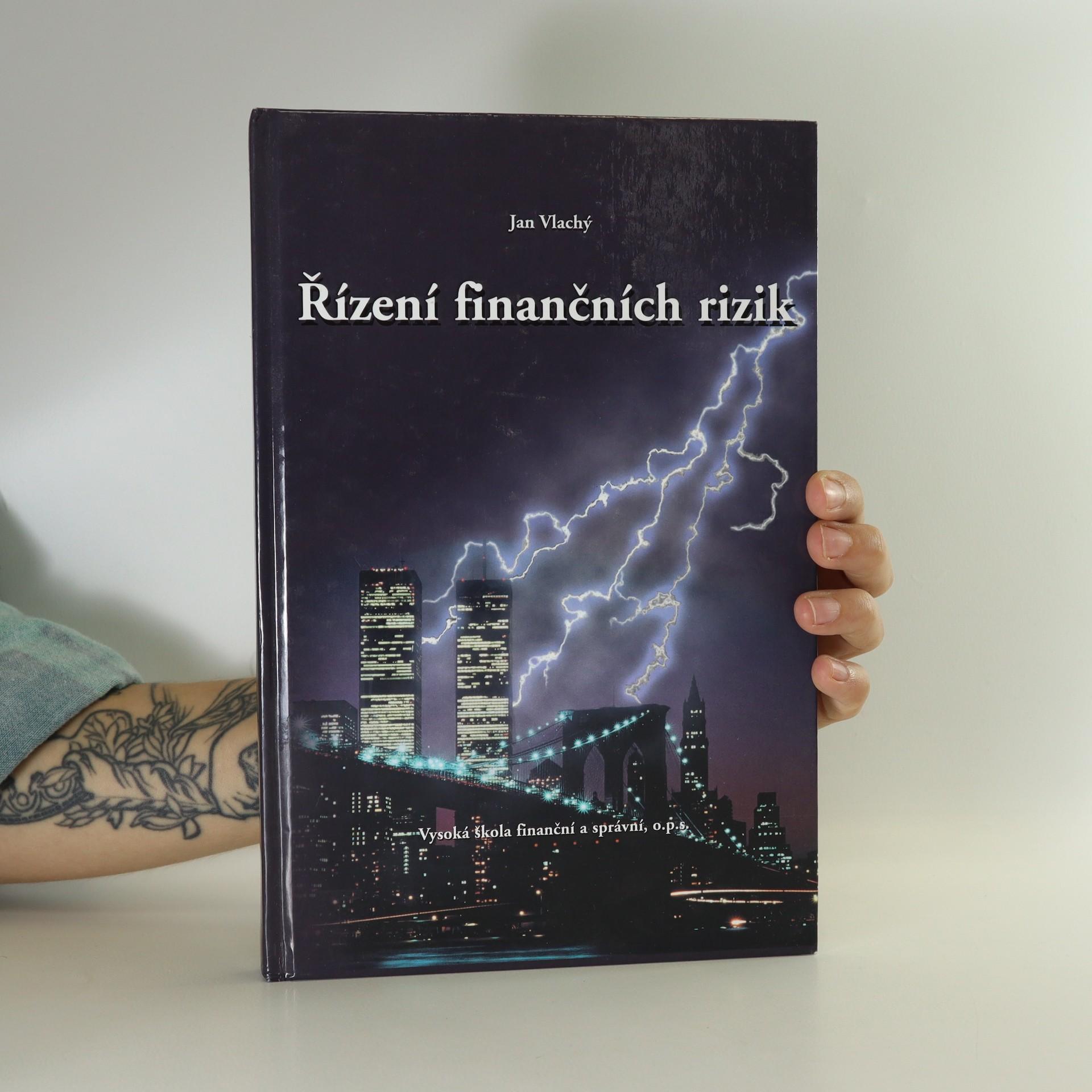 antikvární kniha Řízení finančních rizik, 2006