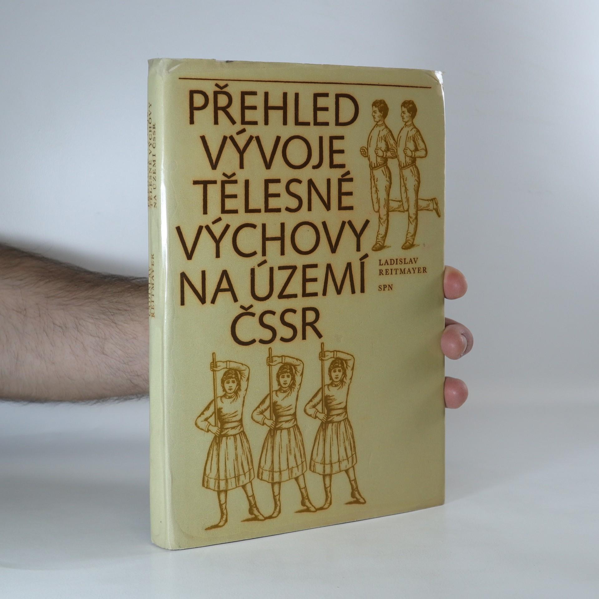 antikvární kniha Přehled vývoje tělesné výchovy na území ČSSR, 1975