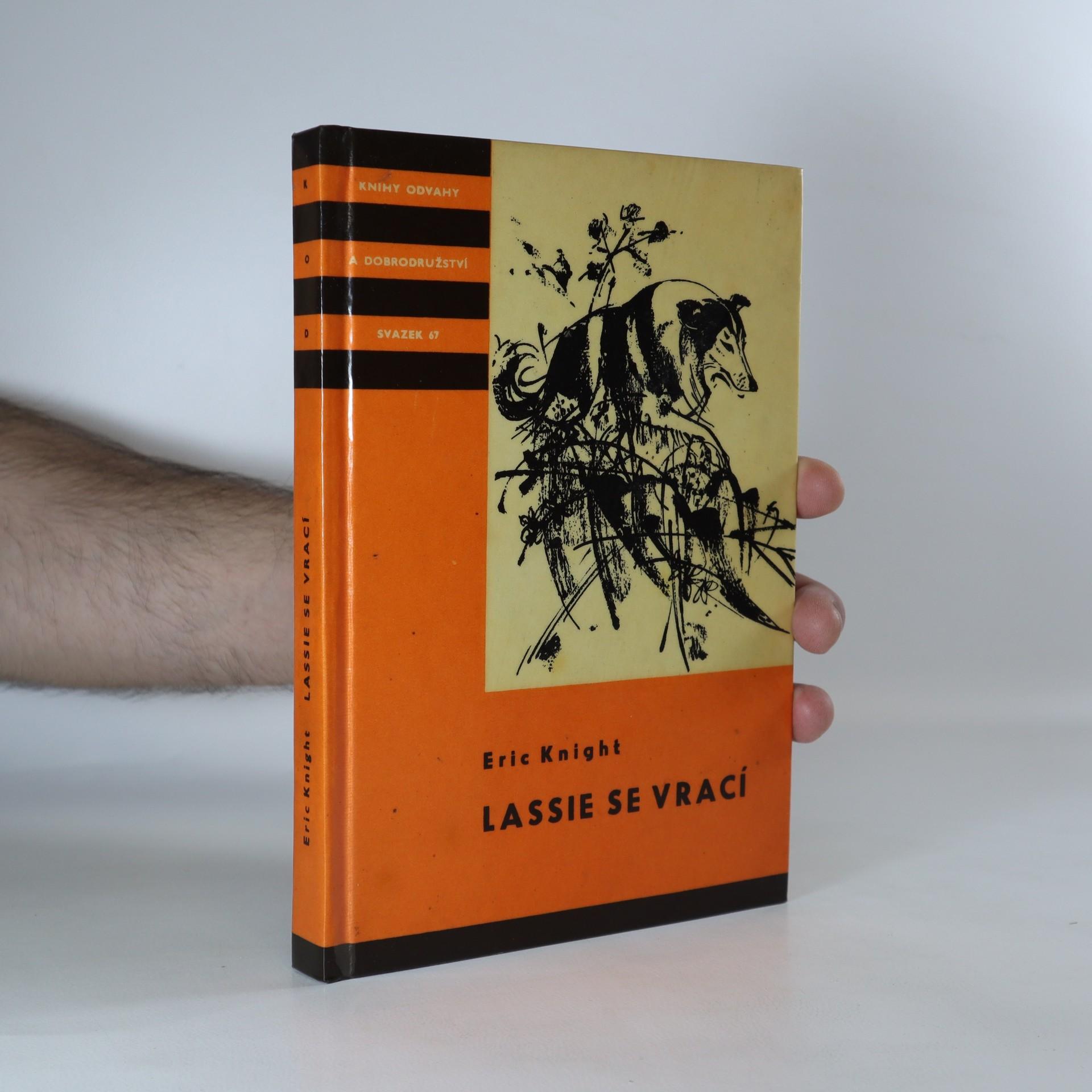 antikvární kniha Lassie se vrací, 1963