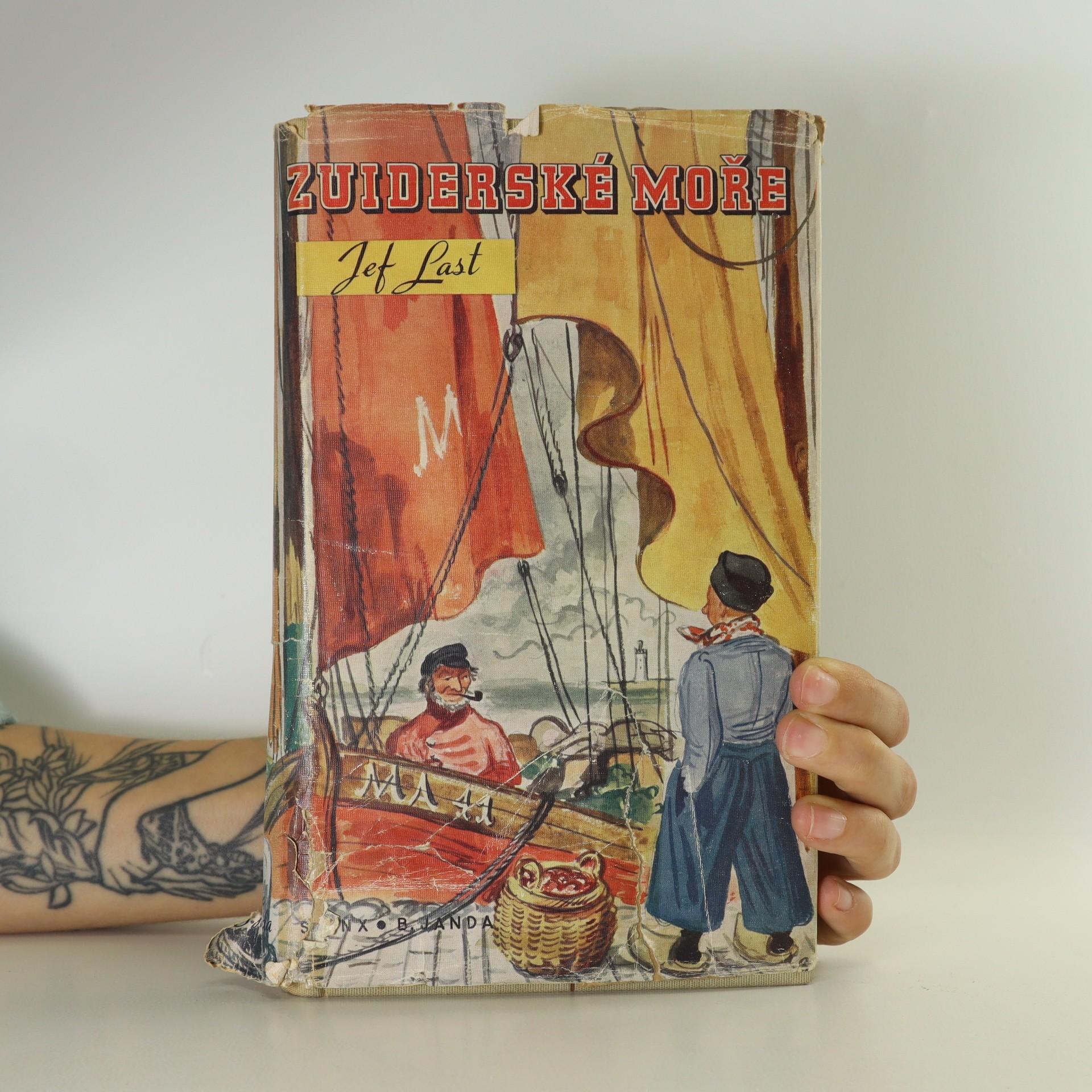 antikvární kniha Zuiderské moře, 1936