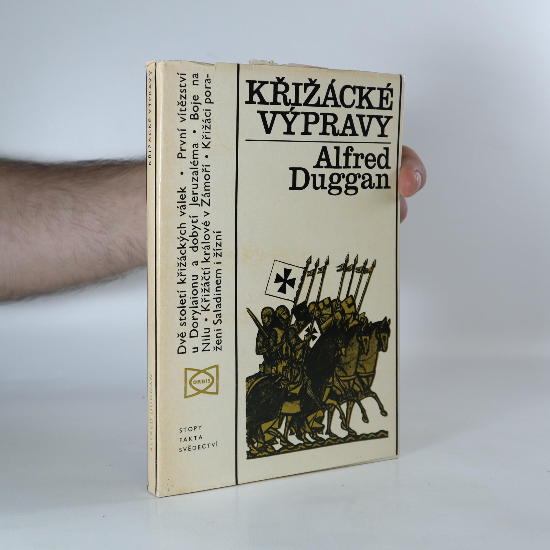 antikvární kniha Křižácké výpravy, 1973