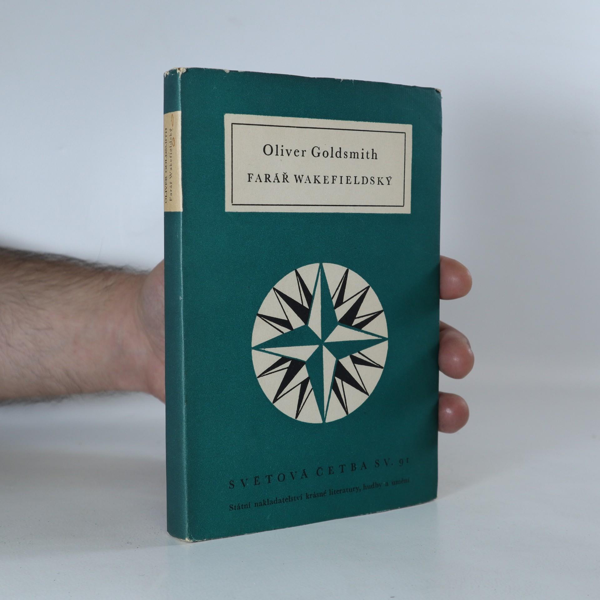 antikvární kniha Farář wakefieldský, 1954