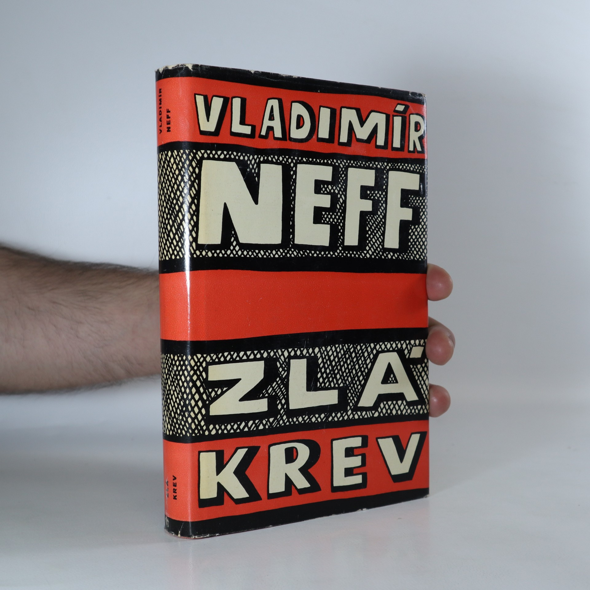 antikvární kniha Zlá krev, 1959