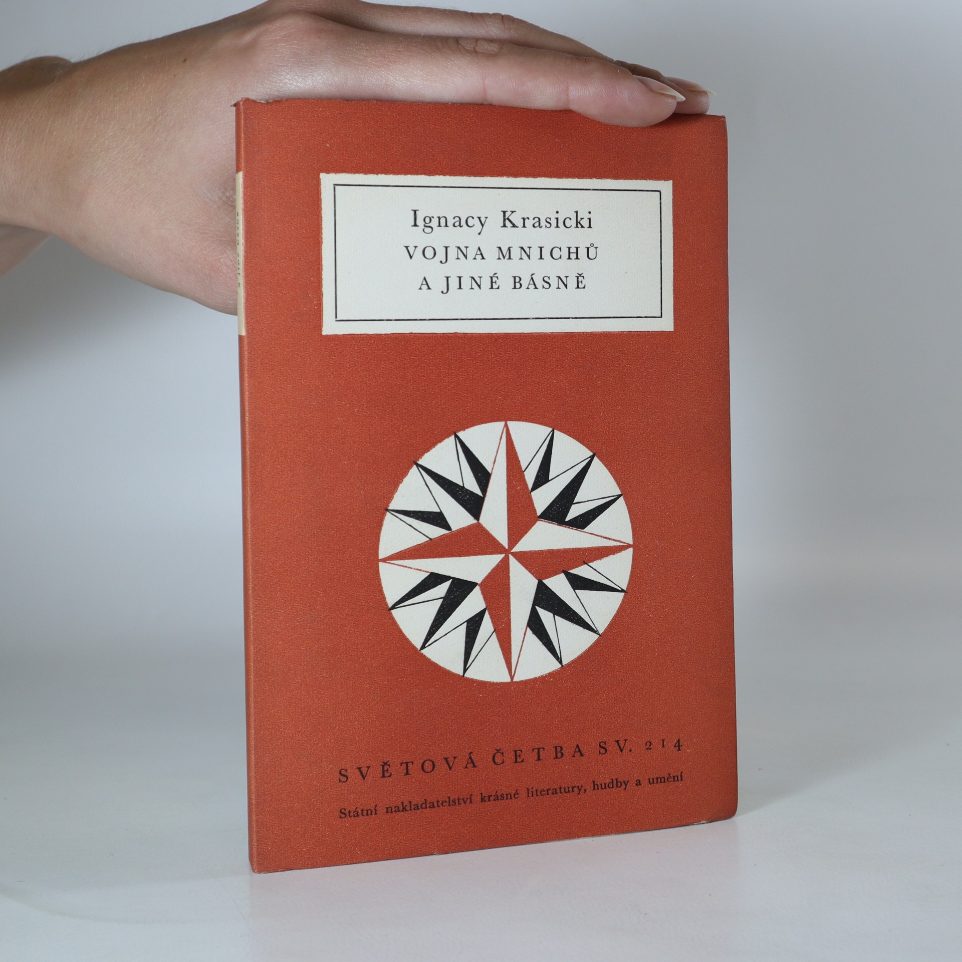 antikvární kniha Vojna mnichů a jiné básně, 1959