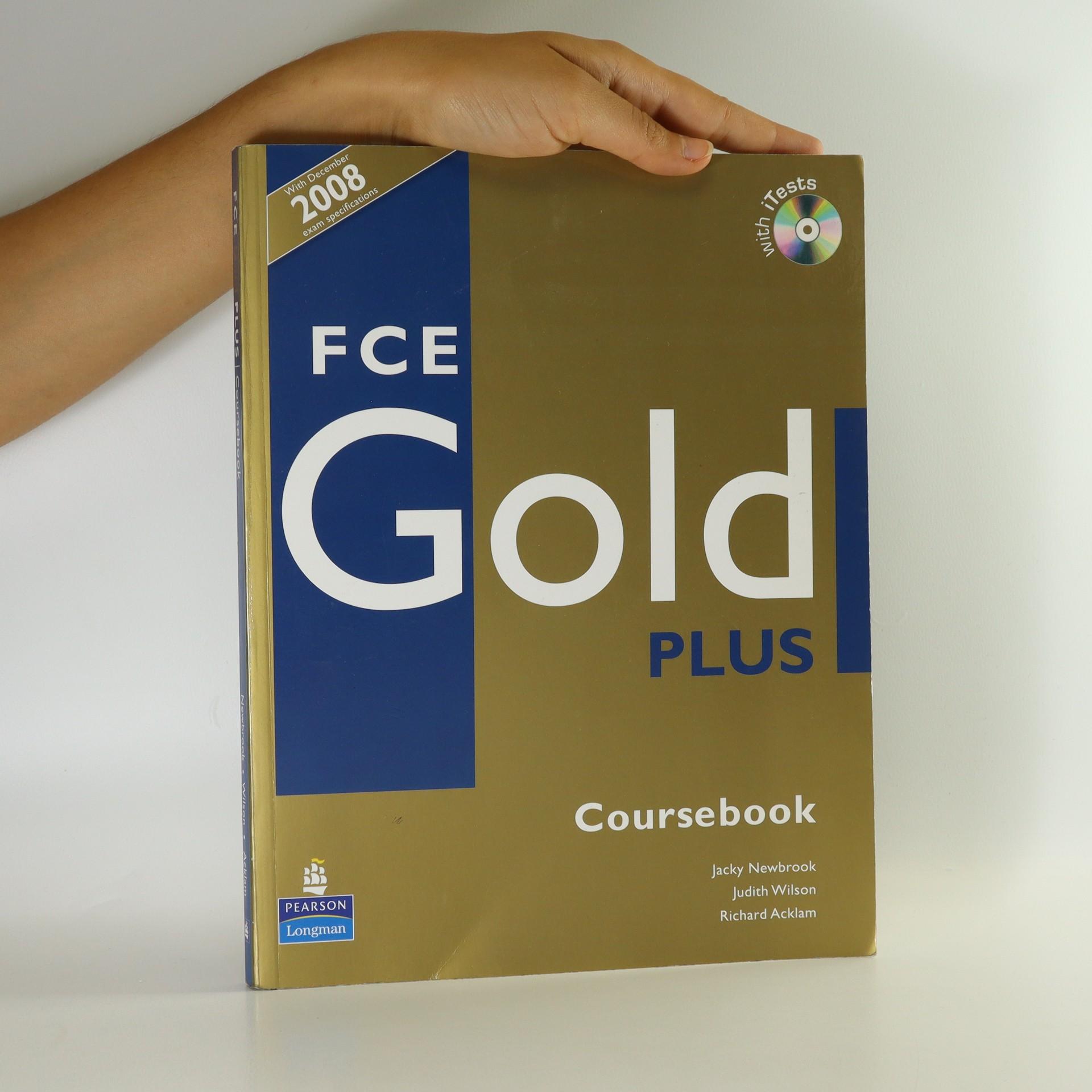 antikvární kniha FCE Gold Plus. Coursebook (bez CD), 2004