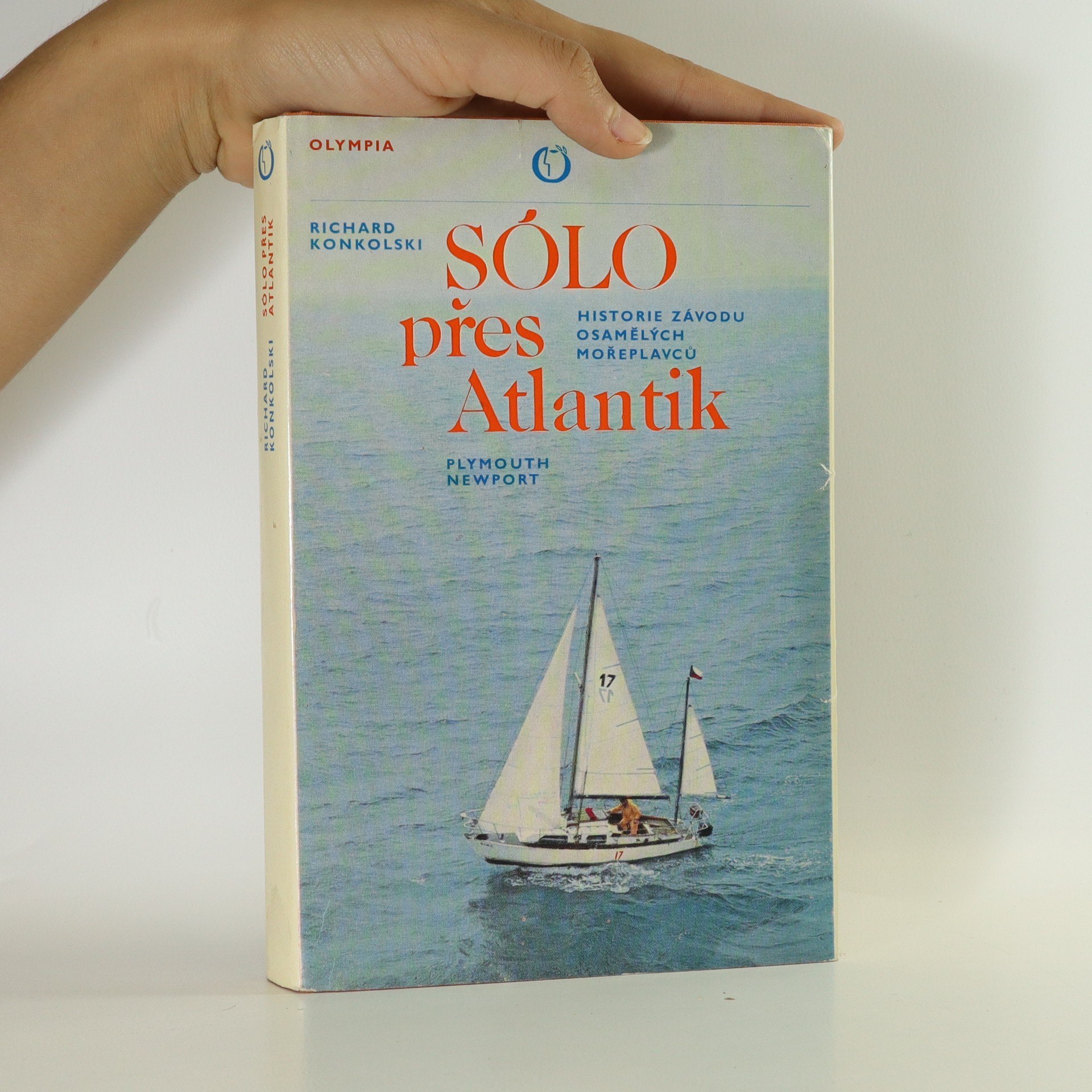 antikvární kniha Sólo přes Atlantik, 1980