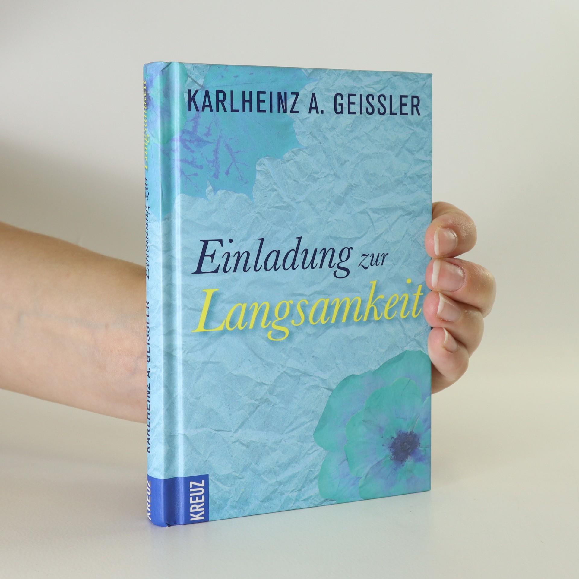 antikvární kniha Einladung zur Langsamkeit, neuveden