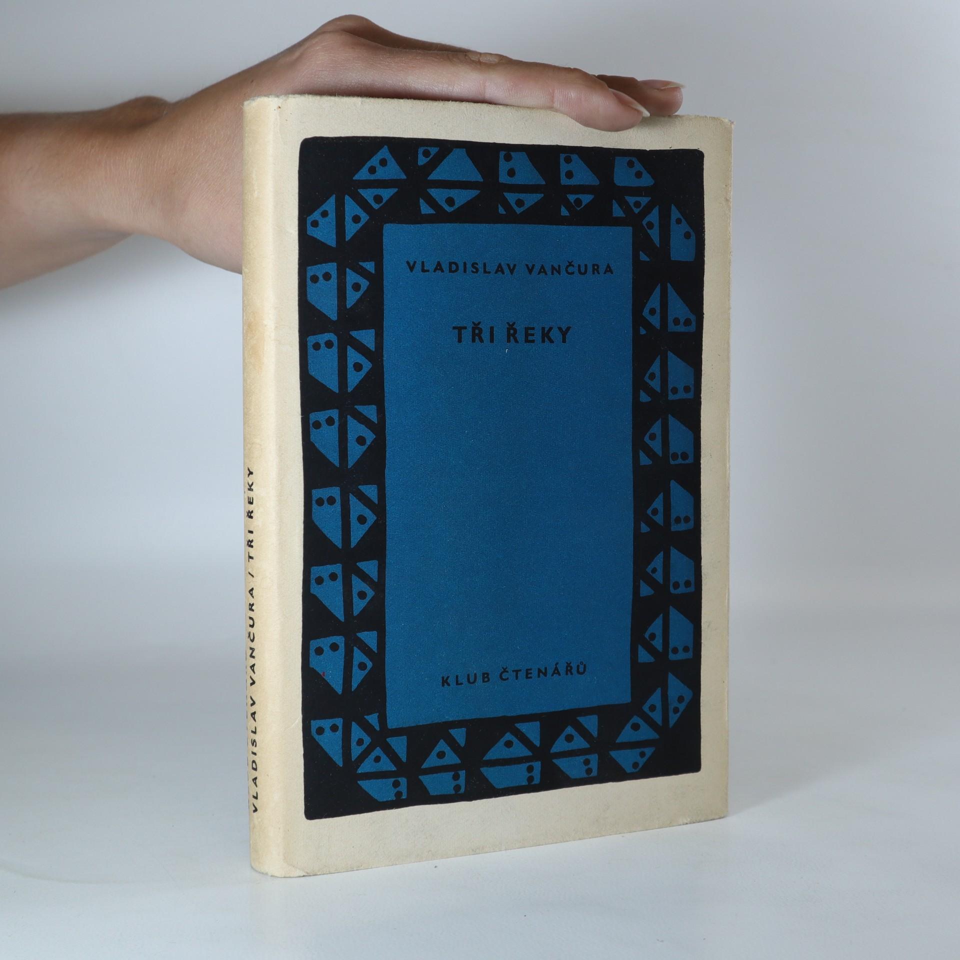 antikvární kniha Tři řeky, 1958