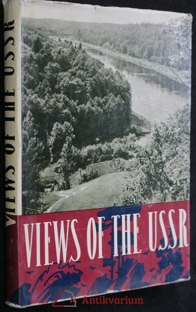 antikvární kniha Views of the USSR, neuveden