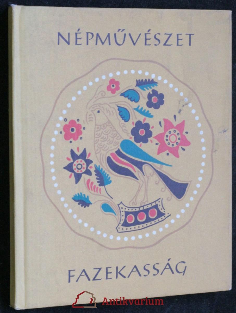 antikvární kniha Népmuvészet fazekasság, 1963