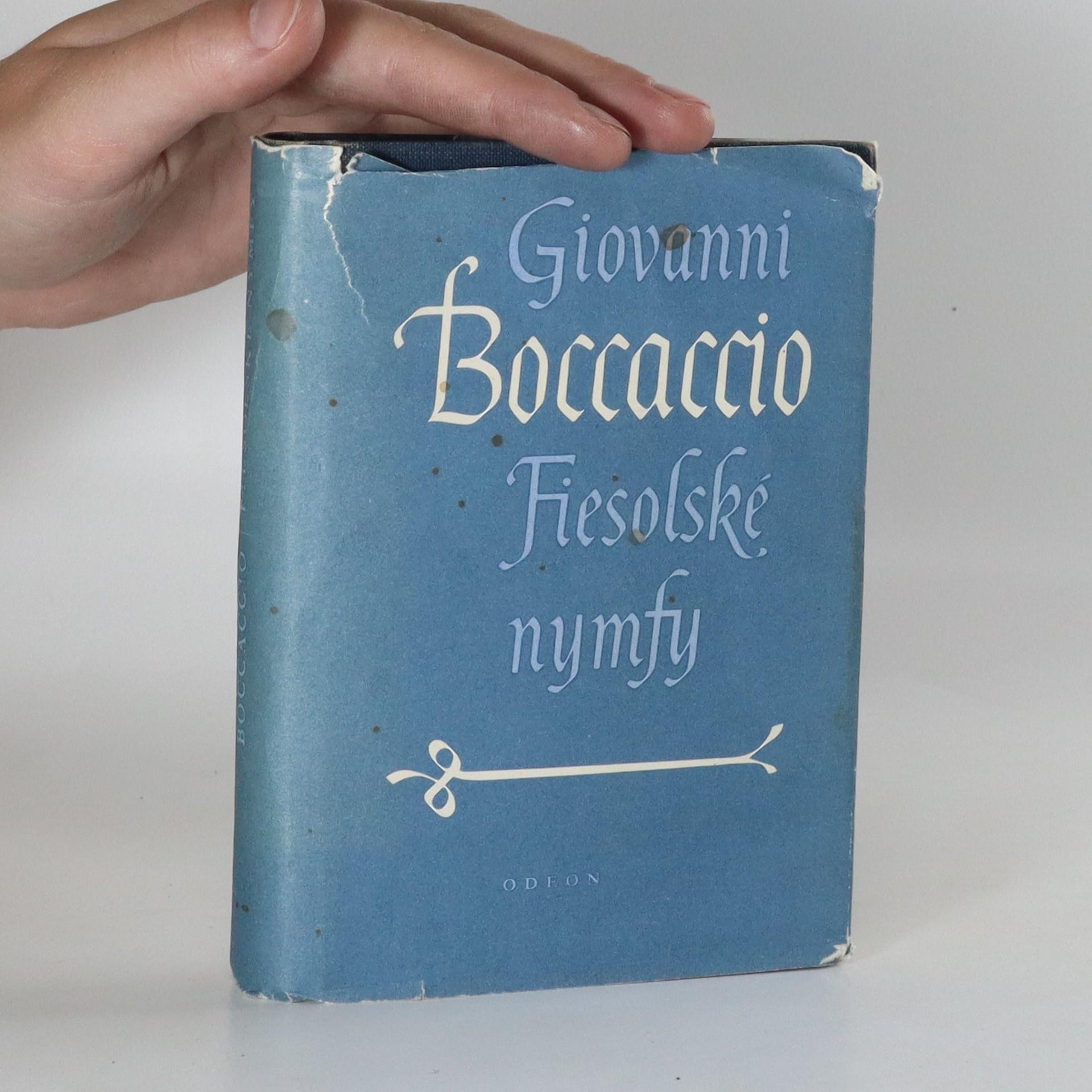 antikvární kniha Fiesolské nymfy, 1984