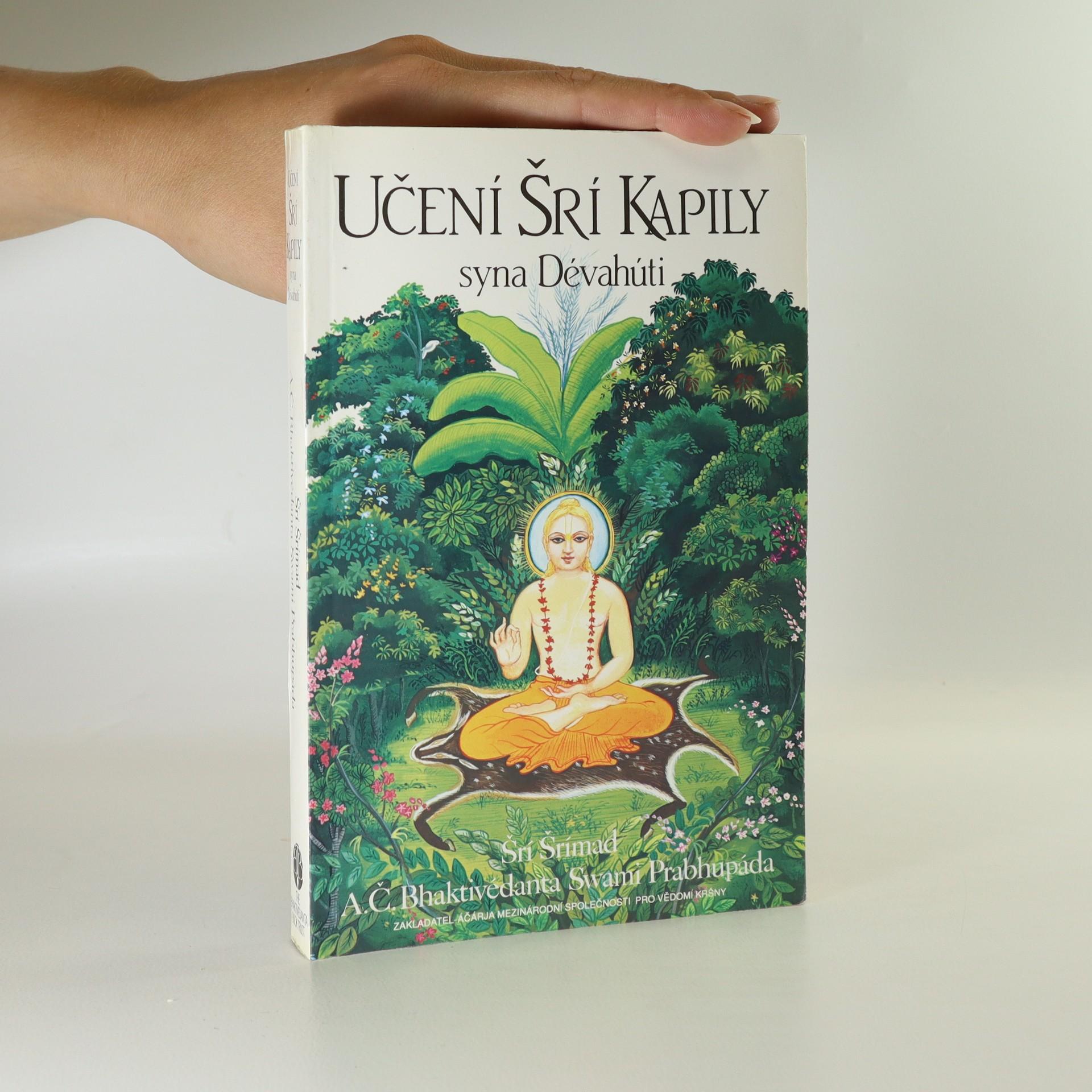 antikvární kniha Učení Šrí Kapily syna Dévahúti. Transcendentální učení Prahláda Mahárádže, neuveden