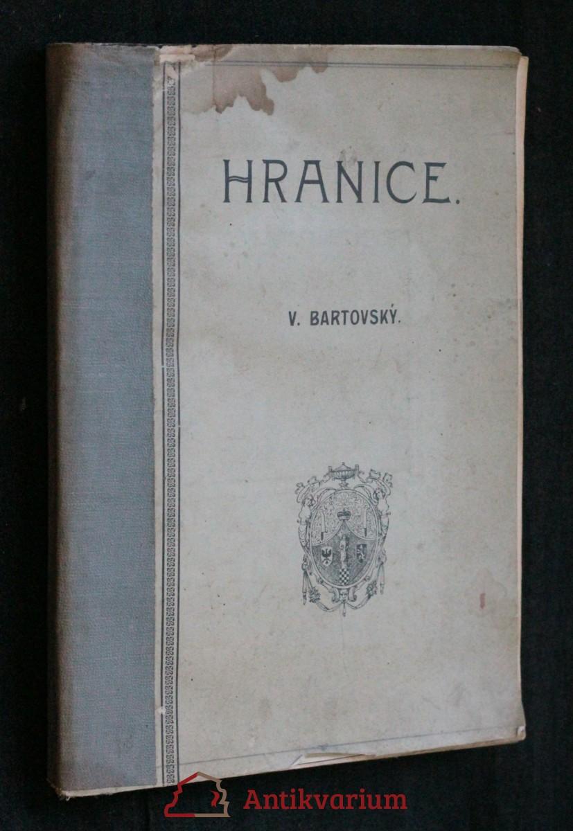 antikvární kniha Hranice : statisticko-topografický a kulturně-historický obraz spolu s úplným adressářem, 1906