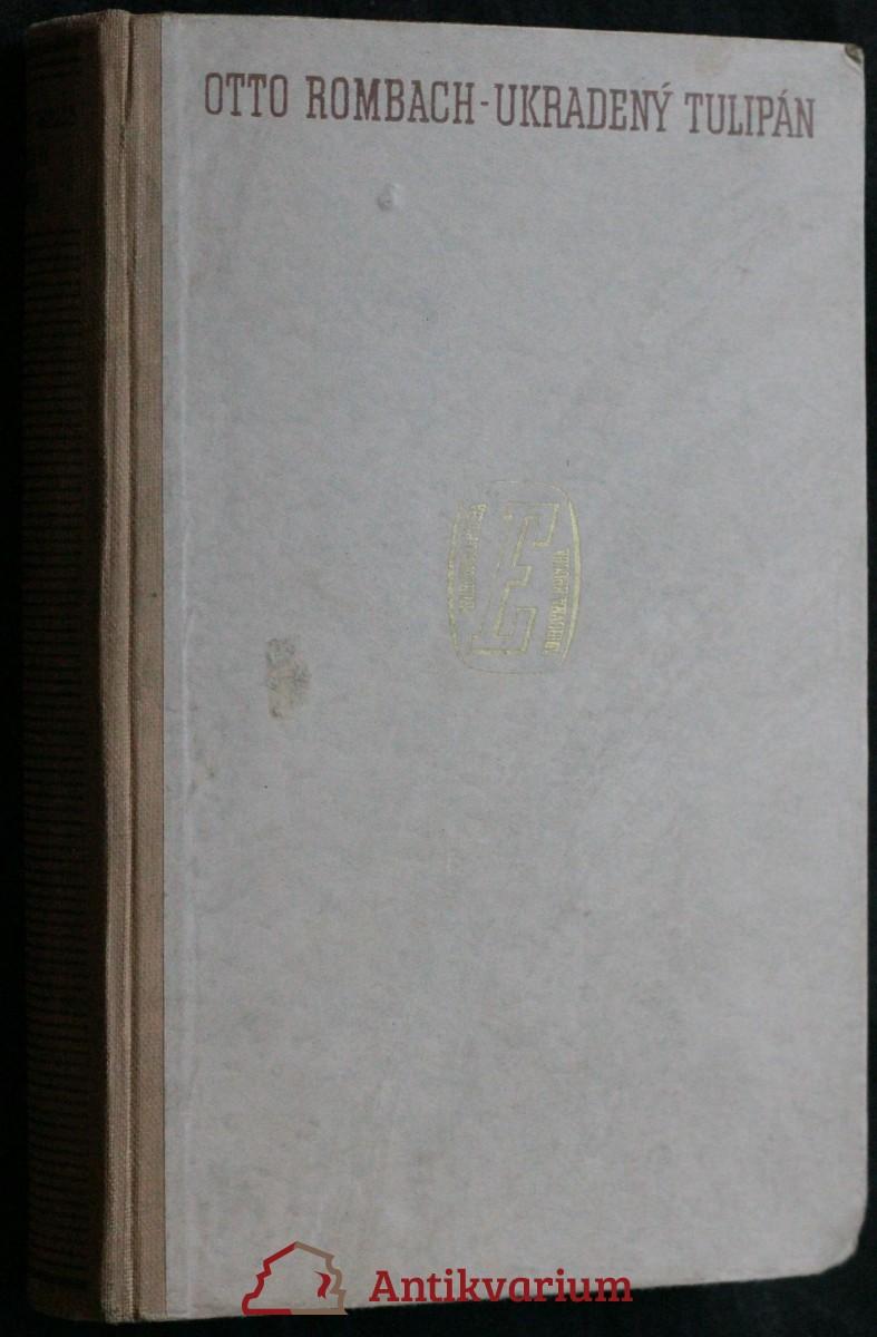 antikvární kniha Ukradený tulipán, 1941