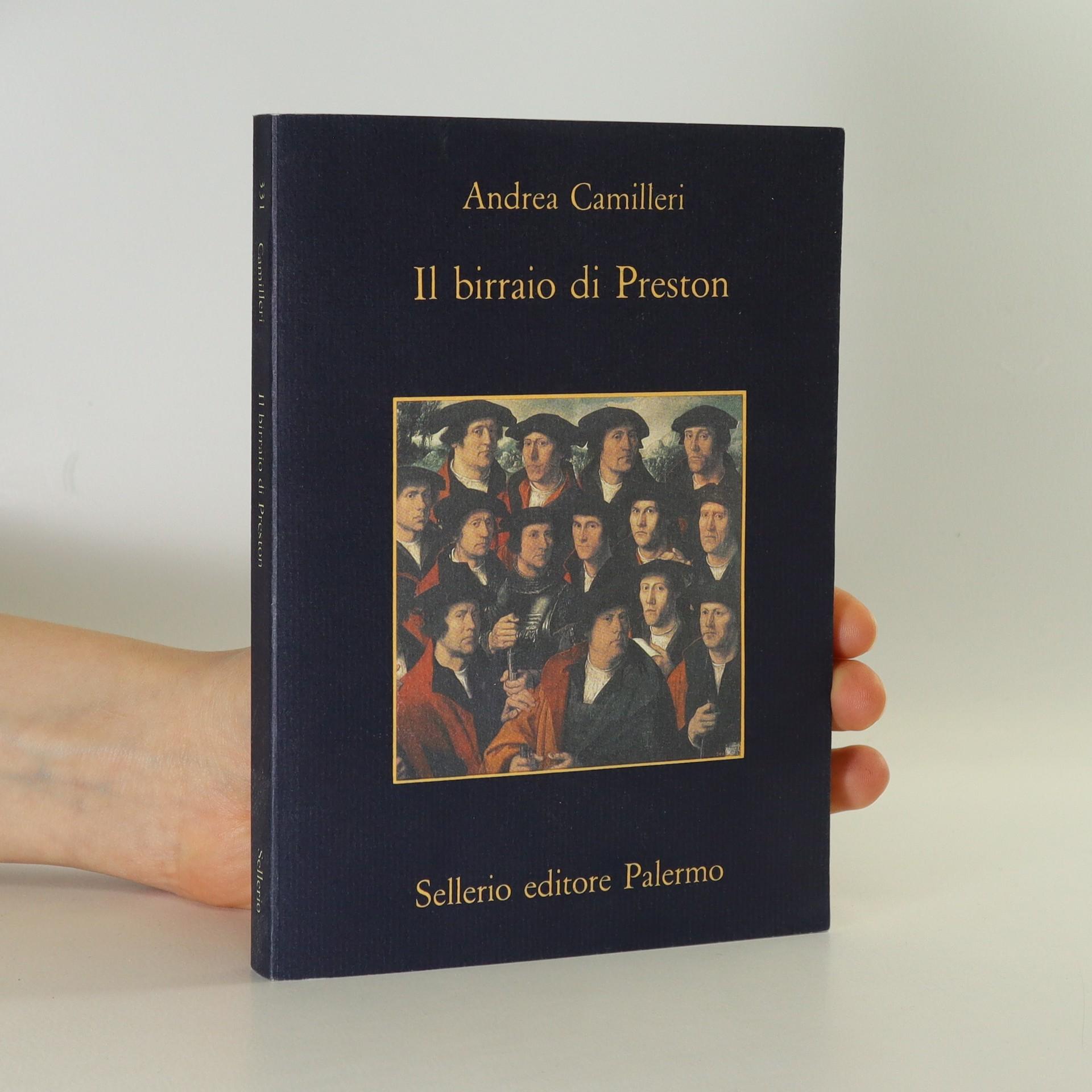 antikvární kniha Il birraio di Preston, 2000