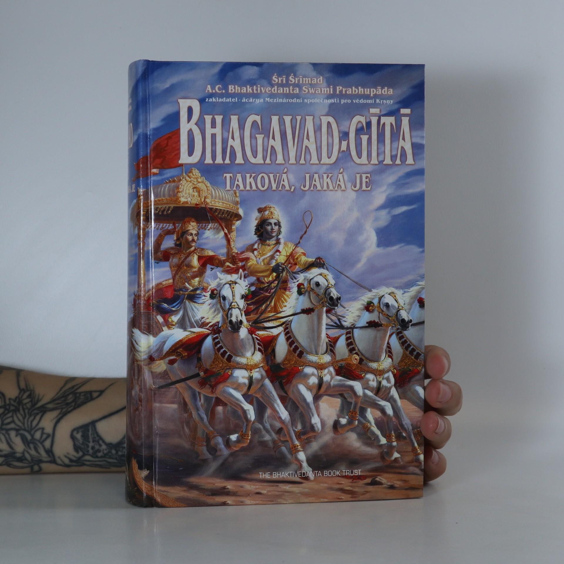 antikvární kniha Bhagavad-gítá taková, jaká je, neuveden