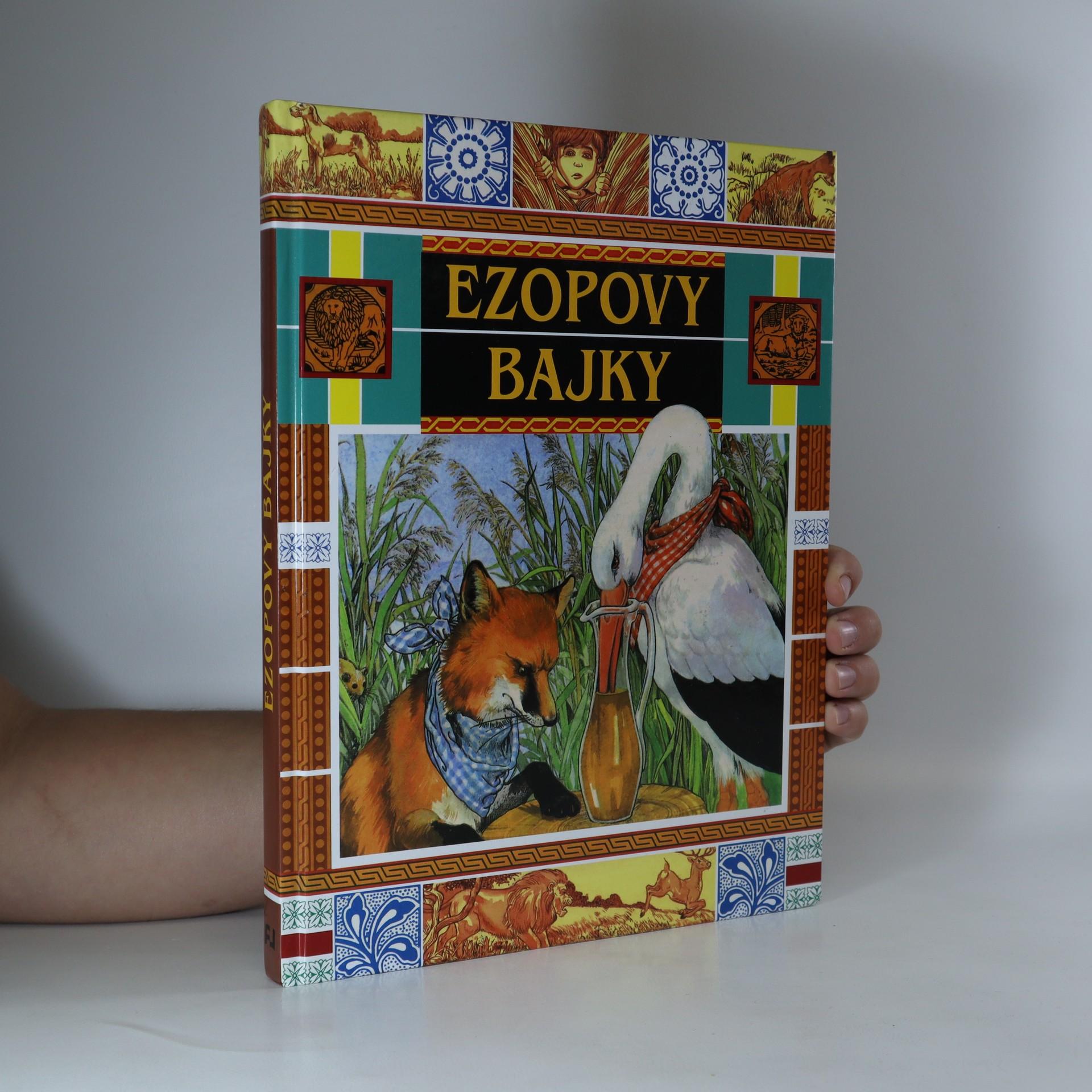 antikvární kniha Ezopovy bajky, 2015