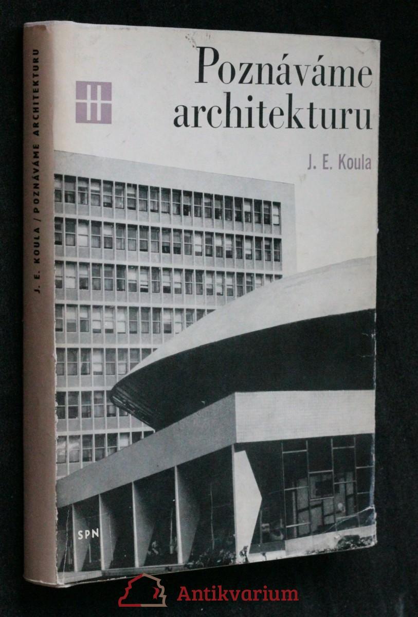antikvární kniha Poznáváme architekturu, 1973