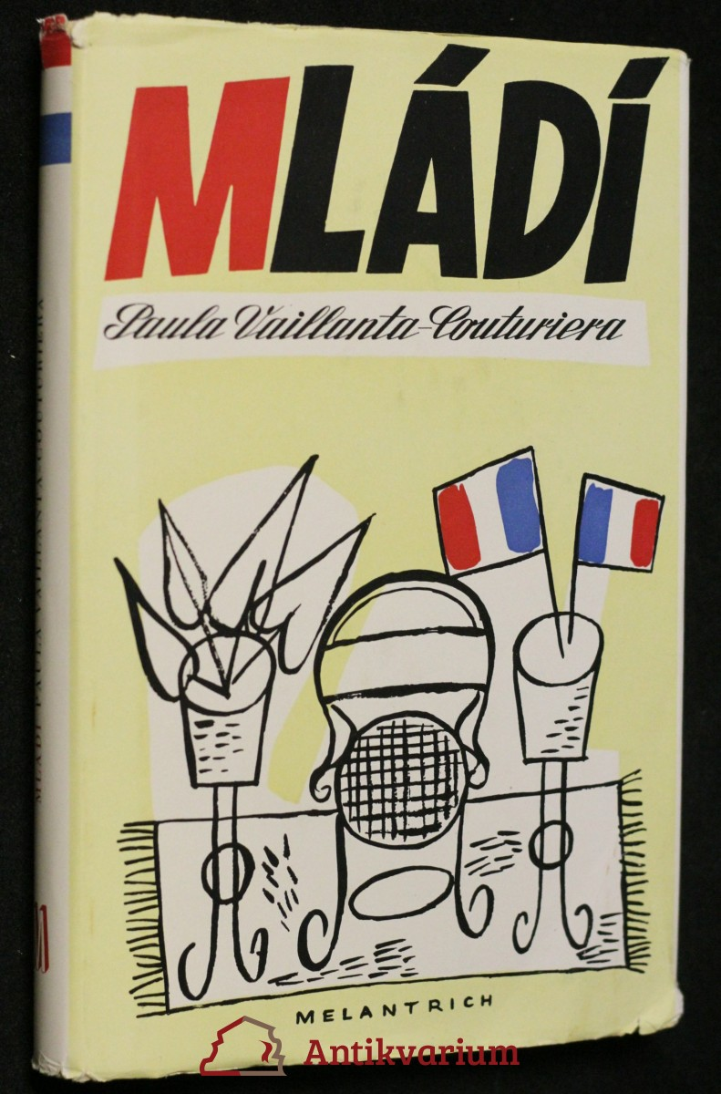 antikvární kniha Mládí Paula Vaillanta-Couturiera, 1950