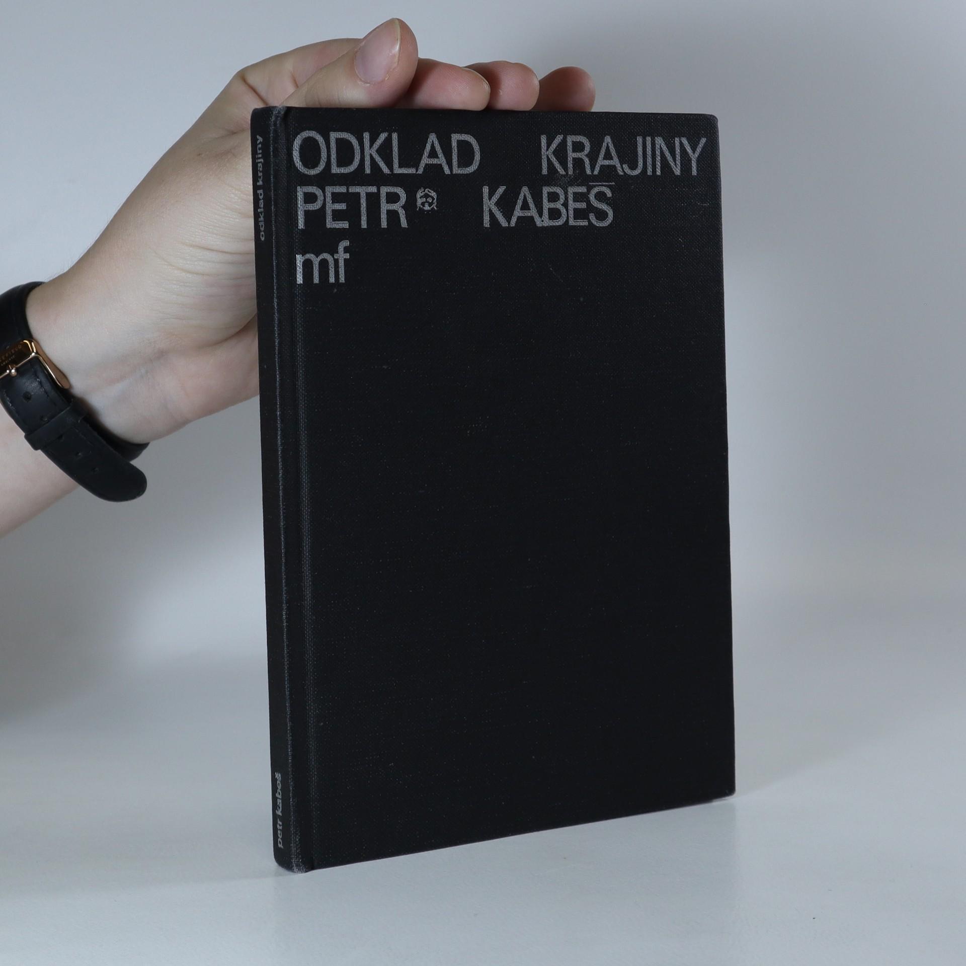 antikvární kniha Odklad krajiny, 1992