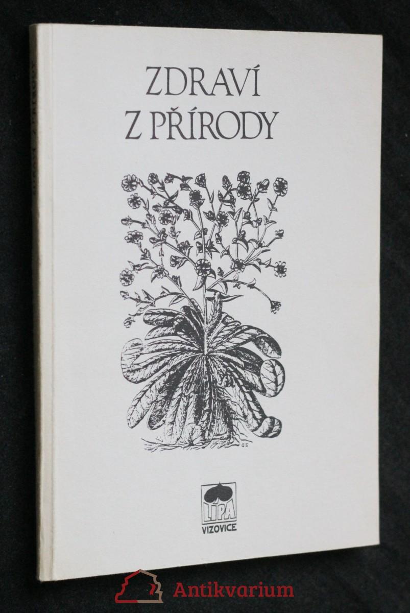 antikvární kniha Zdraví z přírody , 1991